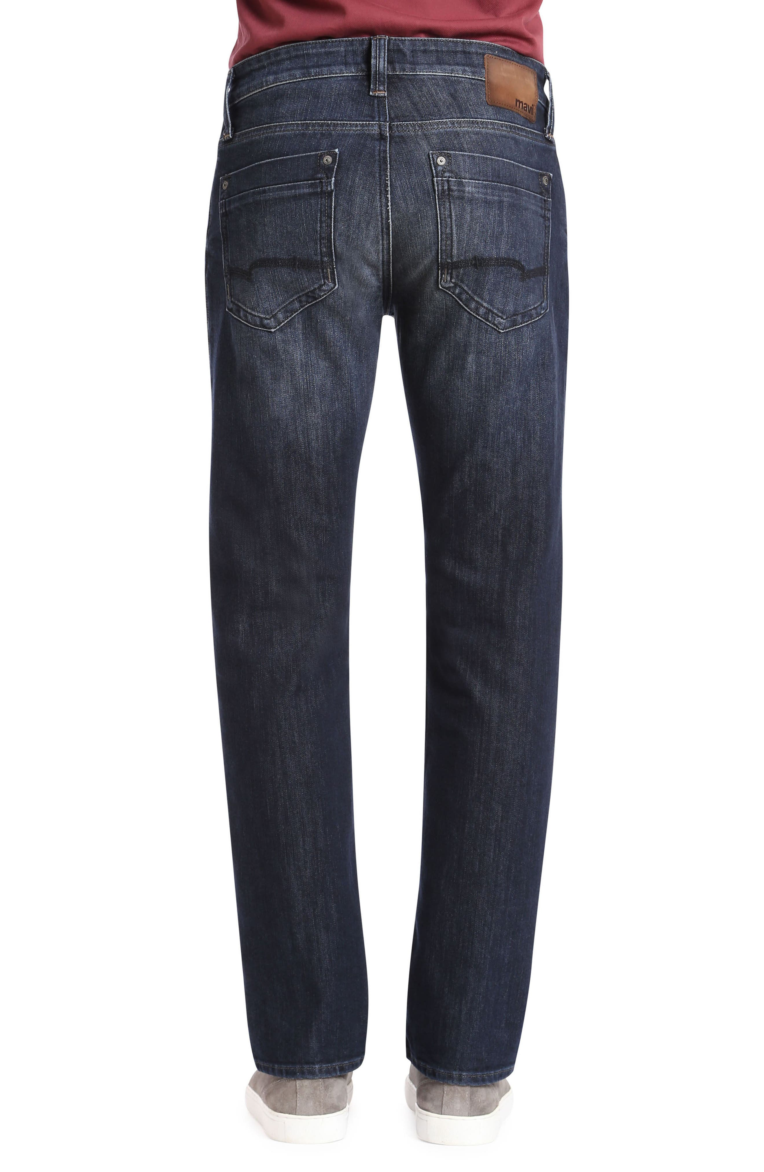 Zach Straight Leg Jeans,                             Alternate thumbnail 2, color,                             DEEP SHADED NEW YORK