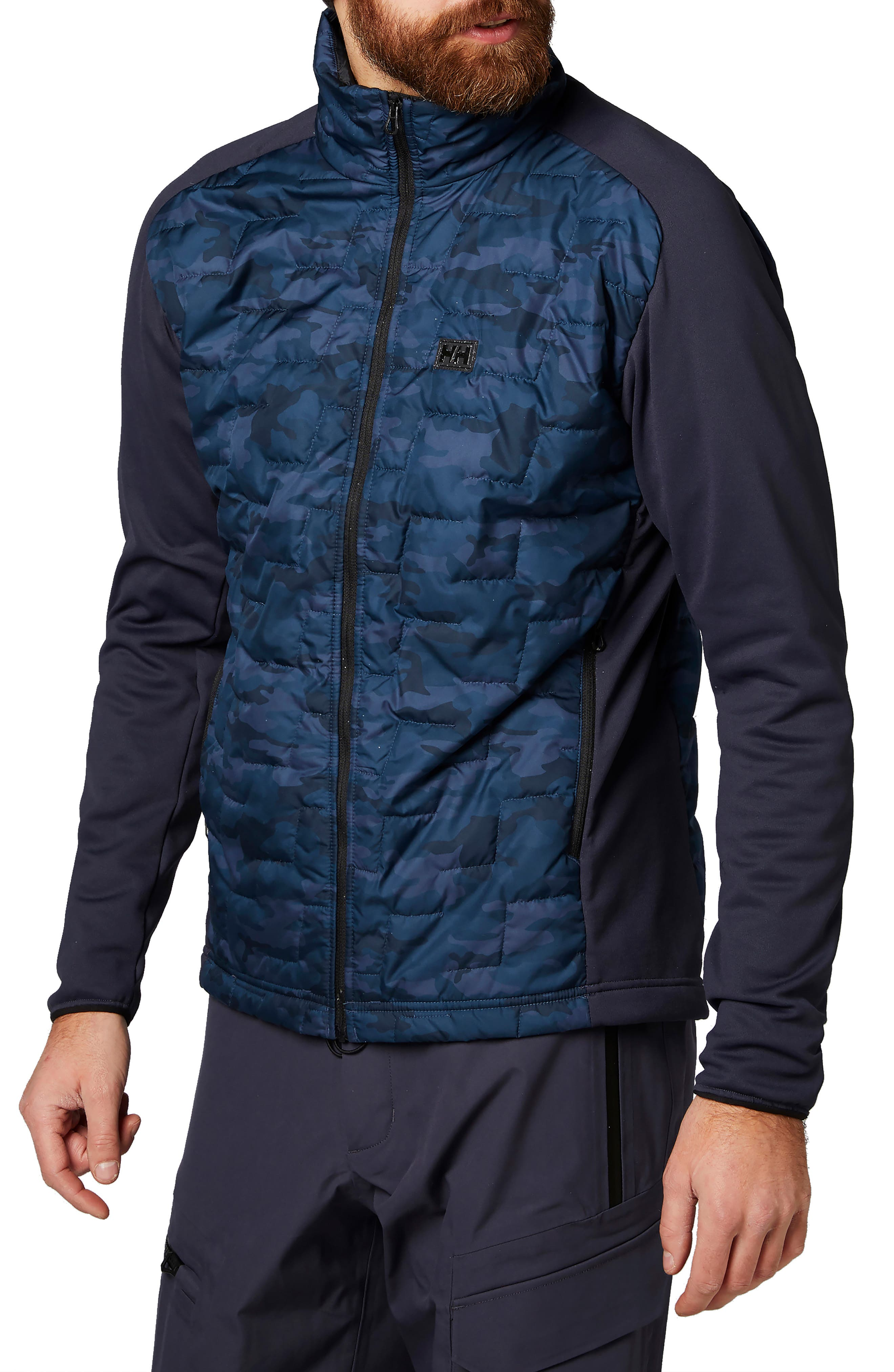Helly Hansen Liftaloft(TM) Hybrid Water- & Wind-Resistant Insulator Jacket, Blue