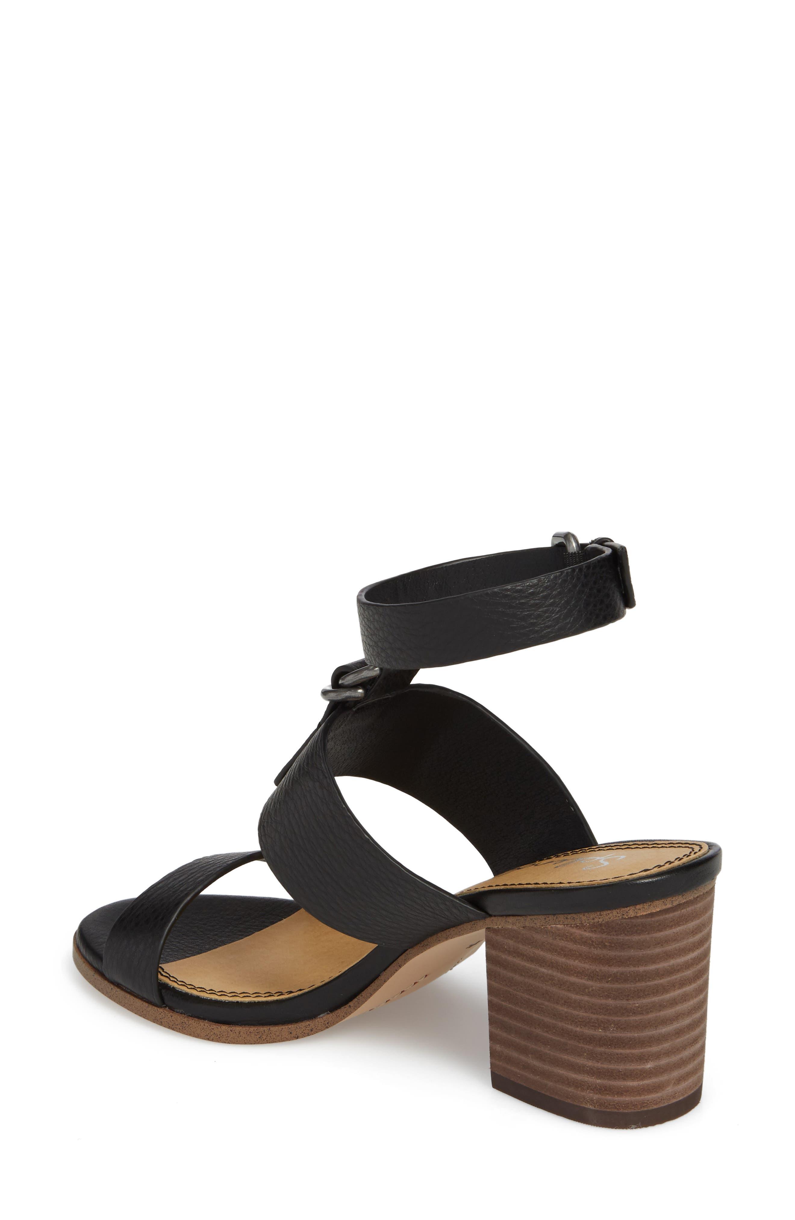 Faron Block Heel Sandal,                             Alternate thumbnail 4, color,