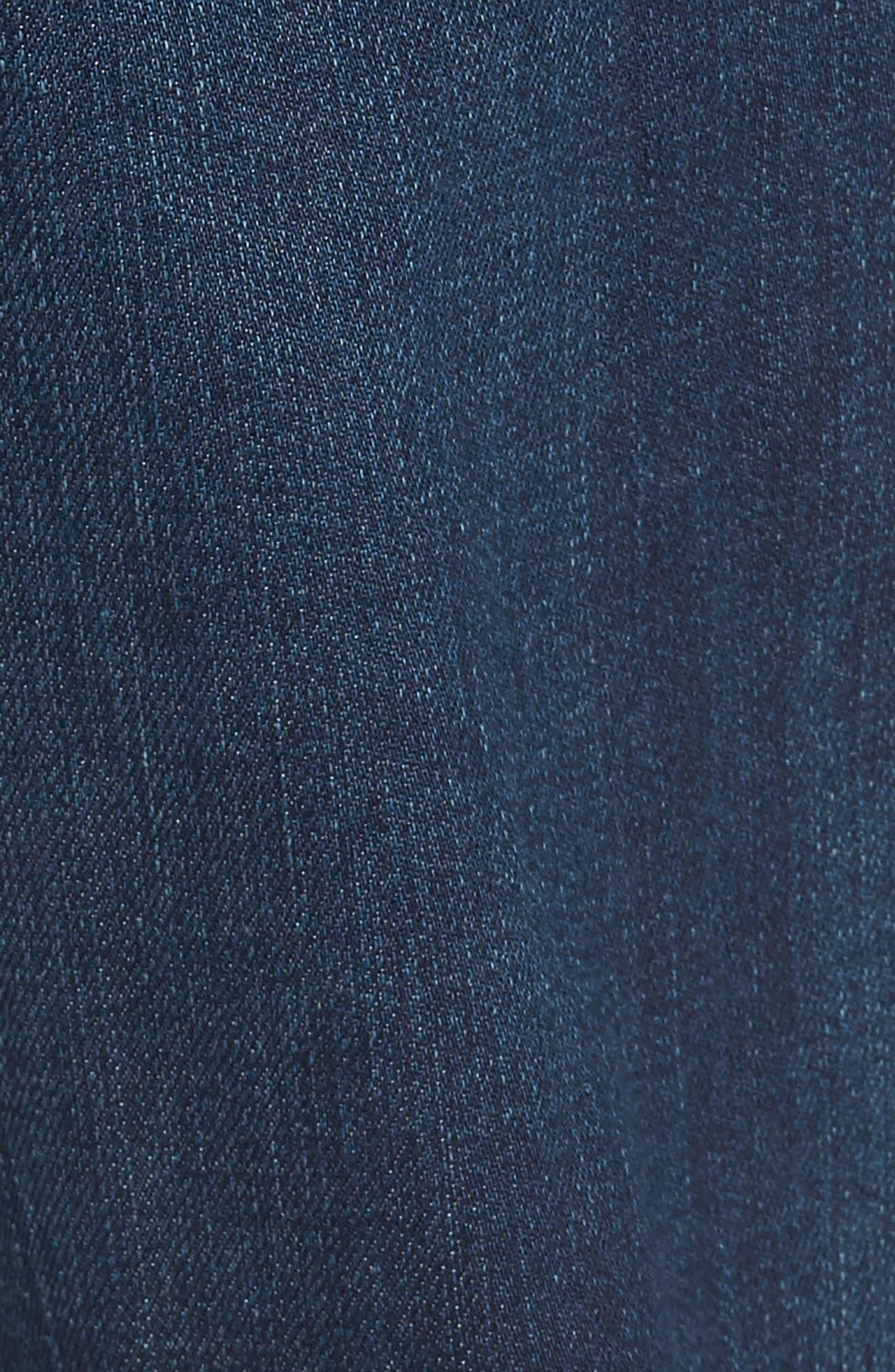 Graduate Slim Straight Fit Jeans,                             Alternate thumbnail 5, color,                             482