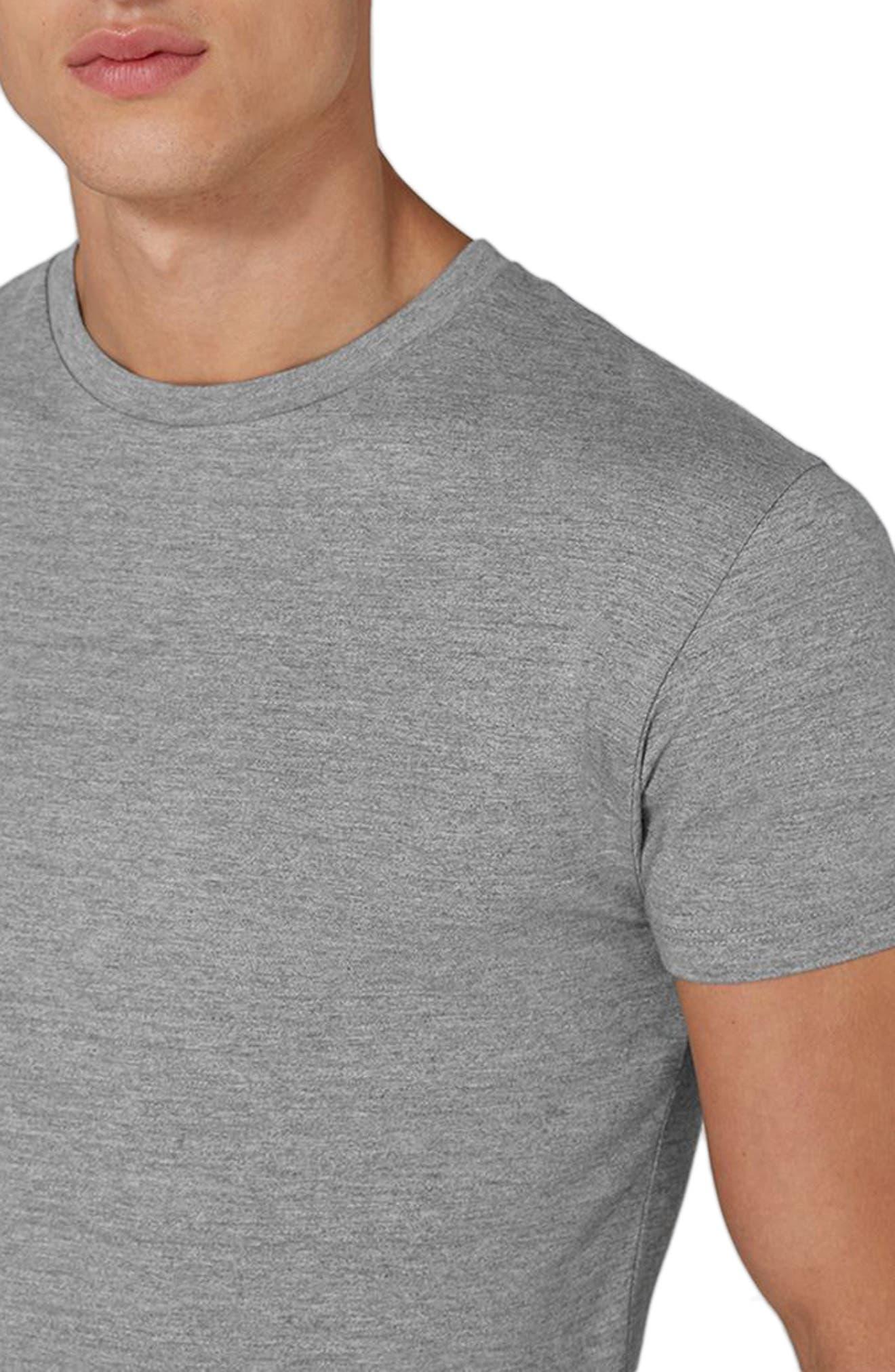 Longline T-Shirt,                             Alternate thumbnail 5, color,