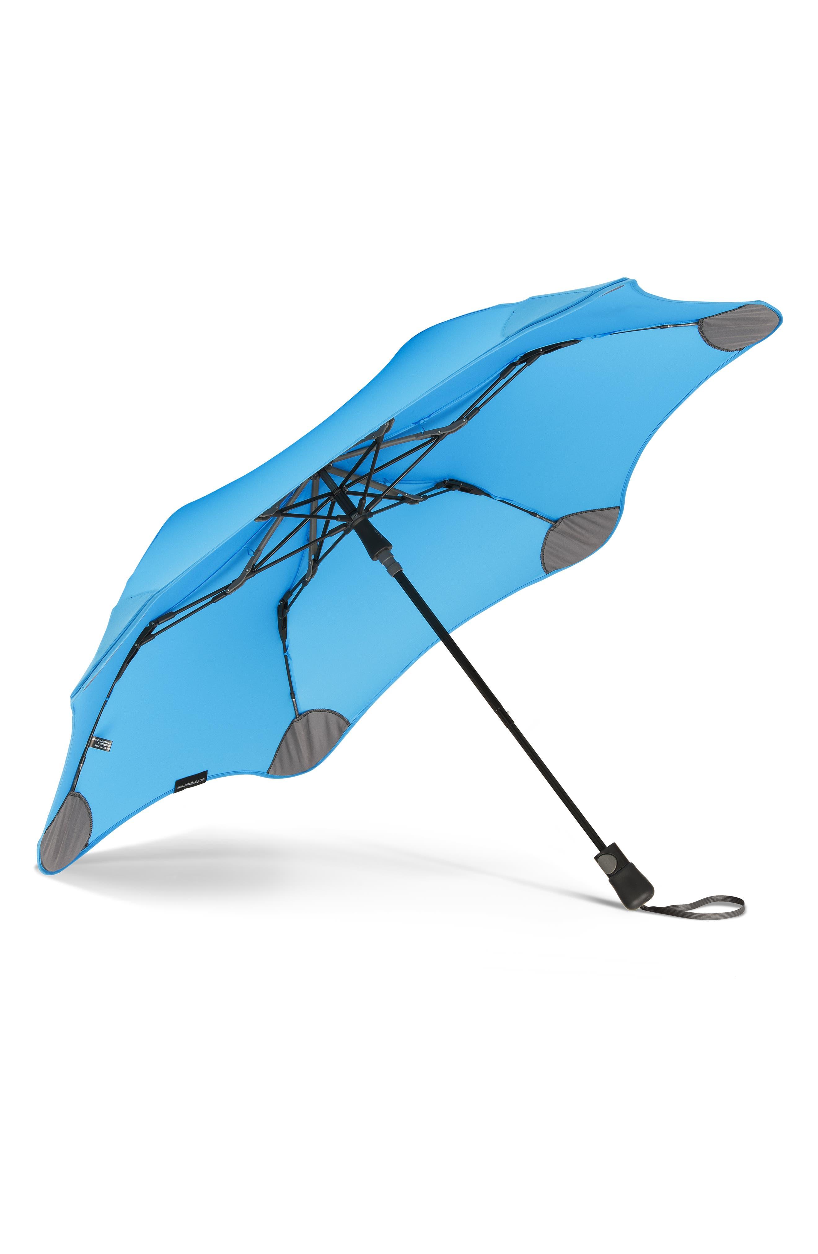 Metro Umbrella,                             Alternate thumbnail 2, color,                             AQUA BLUE
