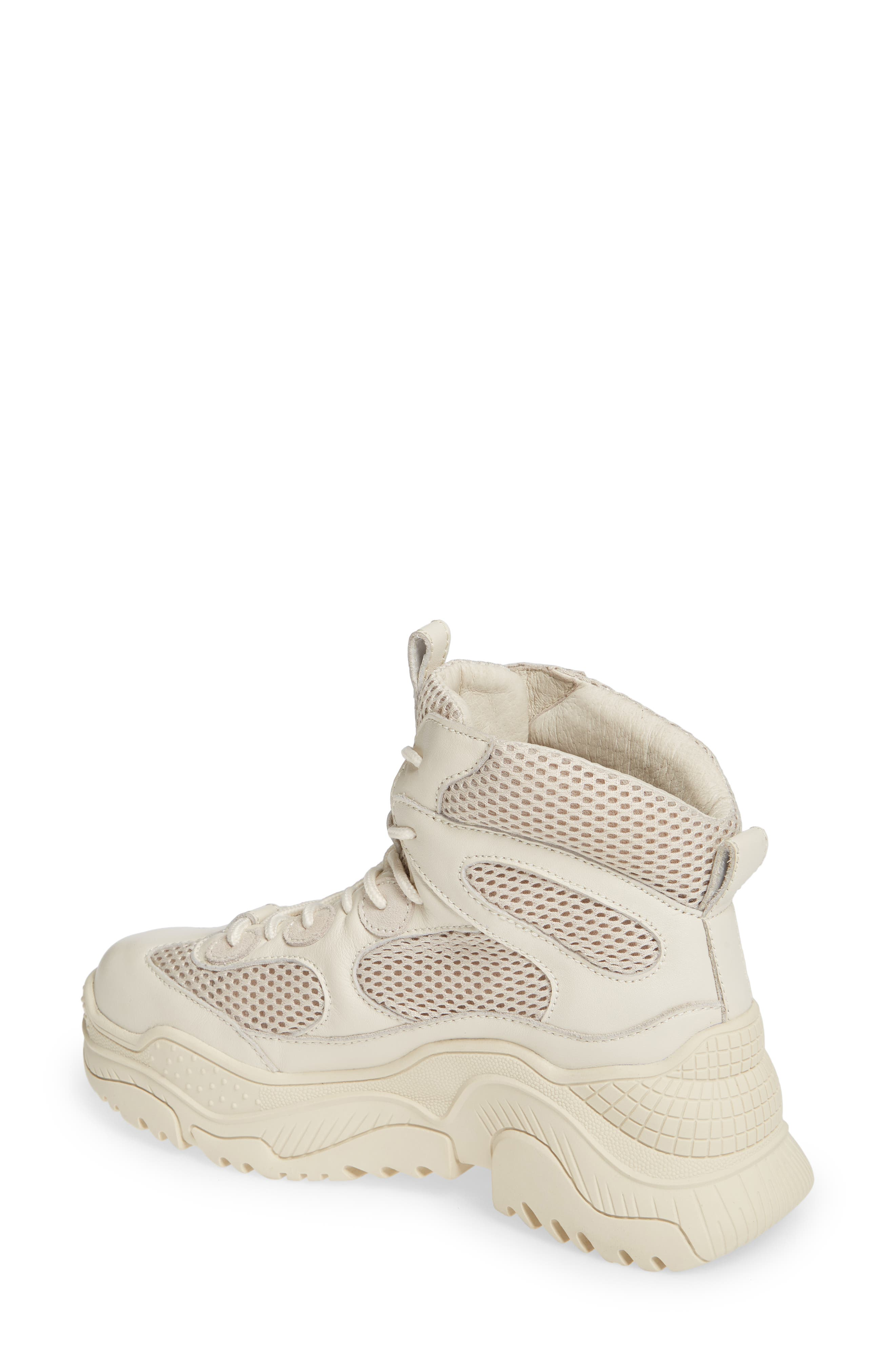 Pyro Wedge Sneaker Boot,                             Alternate thumbnail 2, color,                             OFF WHITE COMBO