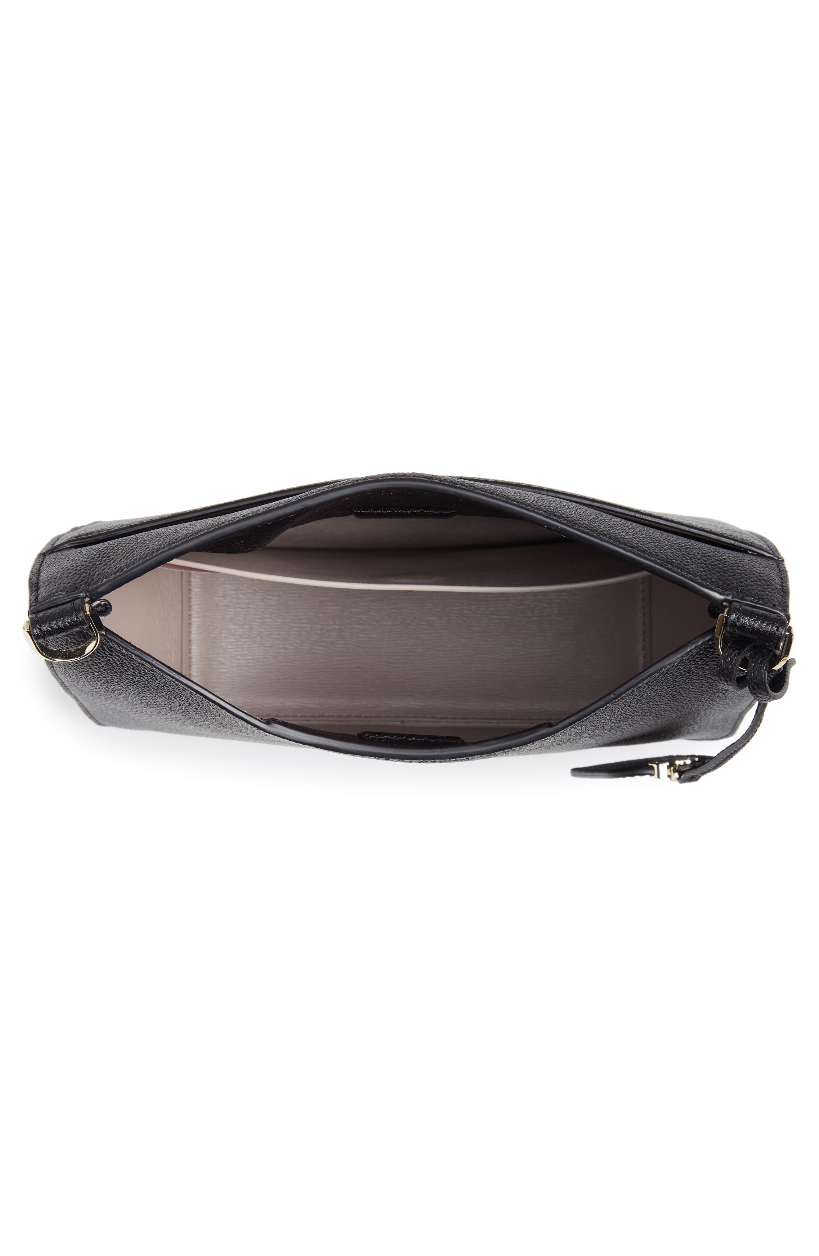 KATE SPADE NEW YORK,                             margaux large crossbody bag,                             Alternate thumbnail 4, color,                             BLACK