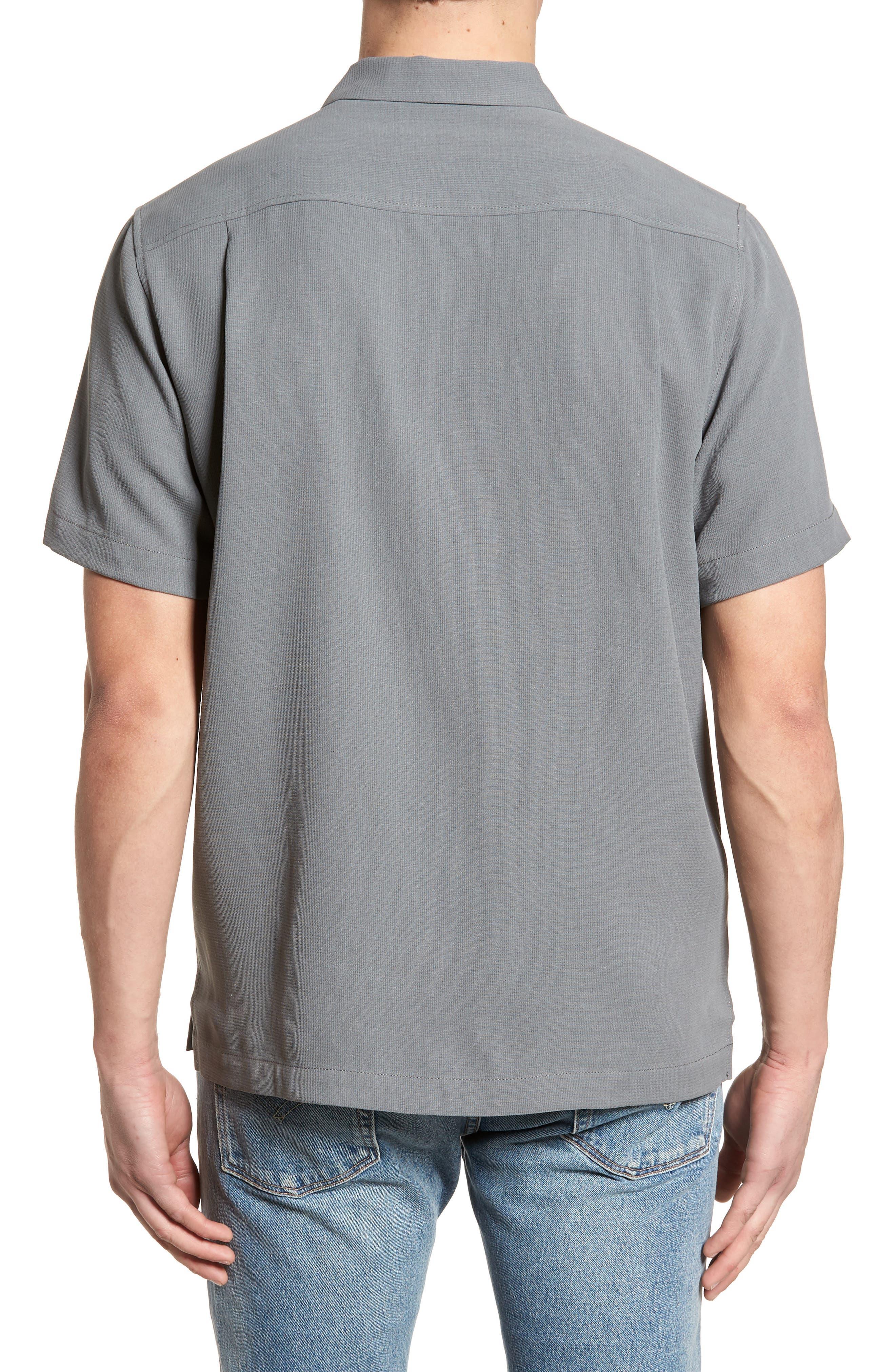 Royal Bermuda Standard Fit Silk Blend Camp Shirt,                             Alternate thumbnail 2, color,                             050