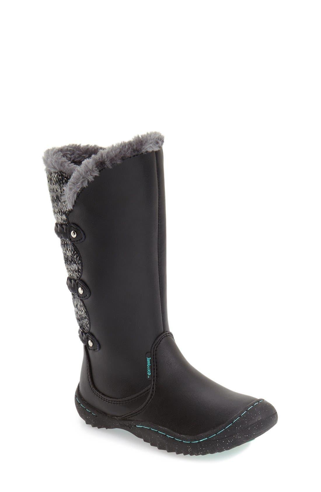 'Azami' Water Resistant Boot,                             Main thumbnail 1, color,                             001