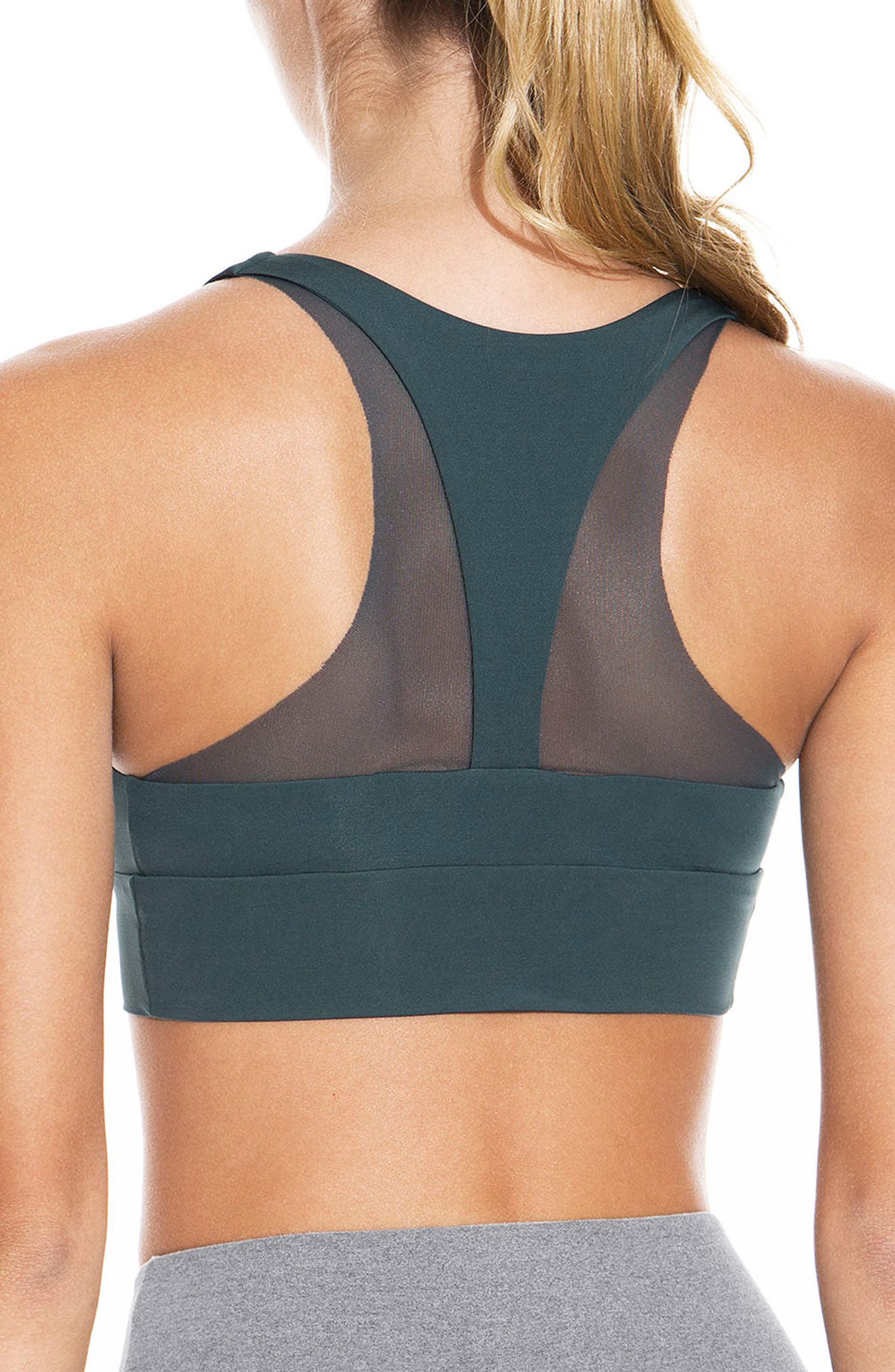 Whisper Tourmaline Sports Bra,                             Alternate thumbnail 2, color,                             301