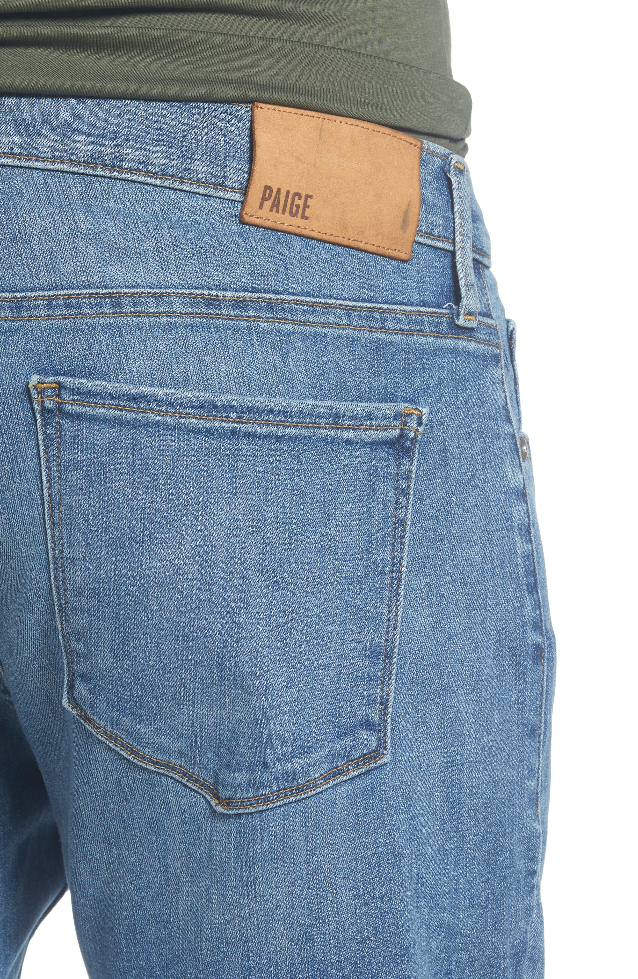 Federal Slim Straight Leg Jeans,                             Alternate thumbnail 4, color,                             CARTWRIGHT