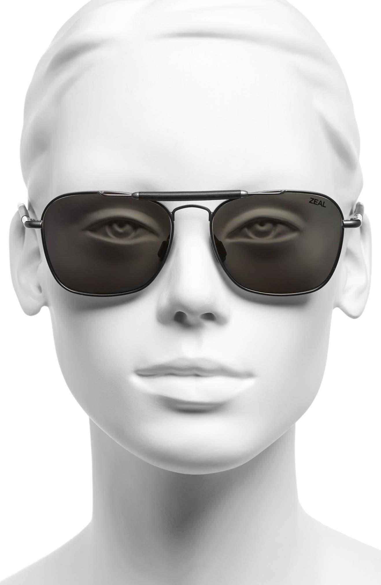 57ba65494f Zeal Optics  Draper  55mm Polarized Plant Based Sunglasses