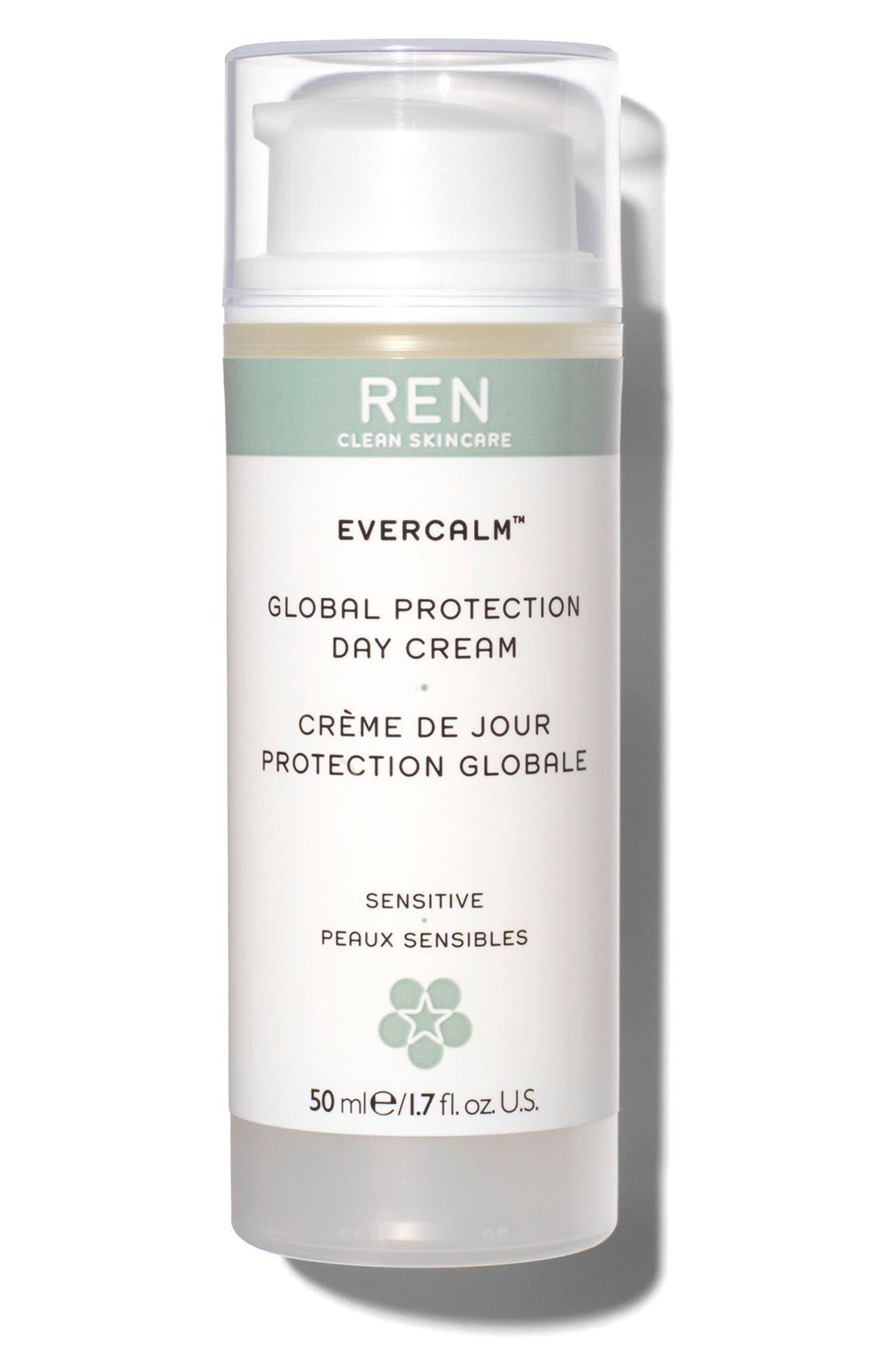SPACE.NK.apothecary REN Evercalm<sup>™</sup> Global Protection Day Cream,                             Main thumbnail 1, color,                             000