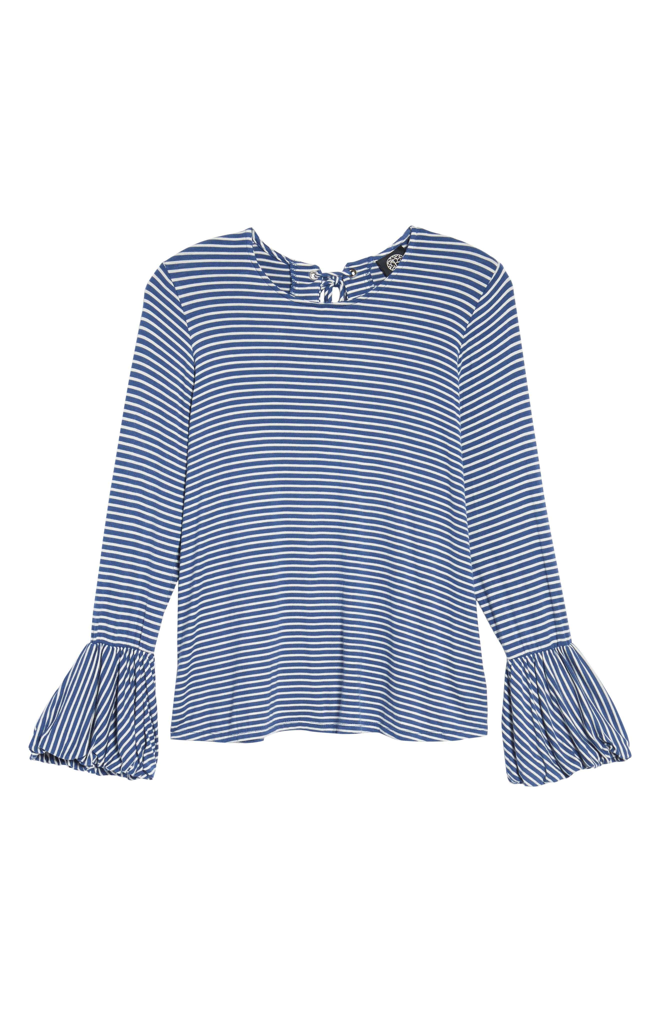 Bell Sleeve Top,                             Alternate thumbnail 27, color,