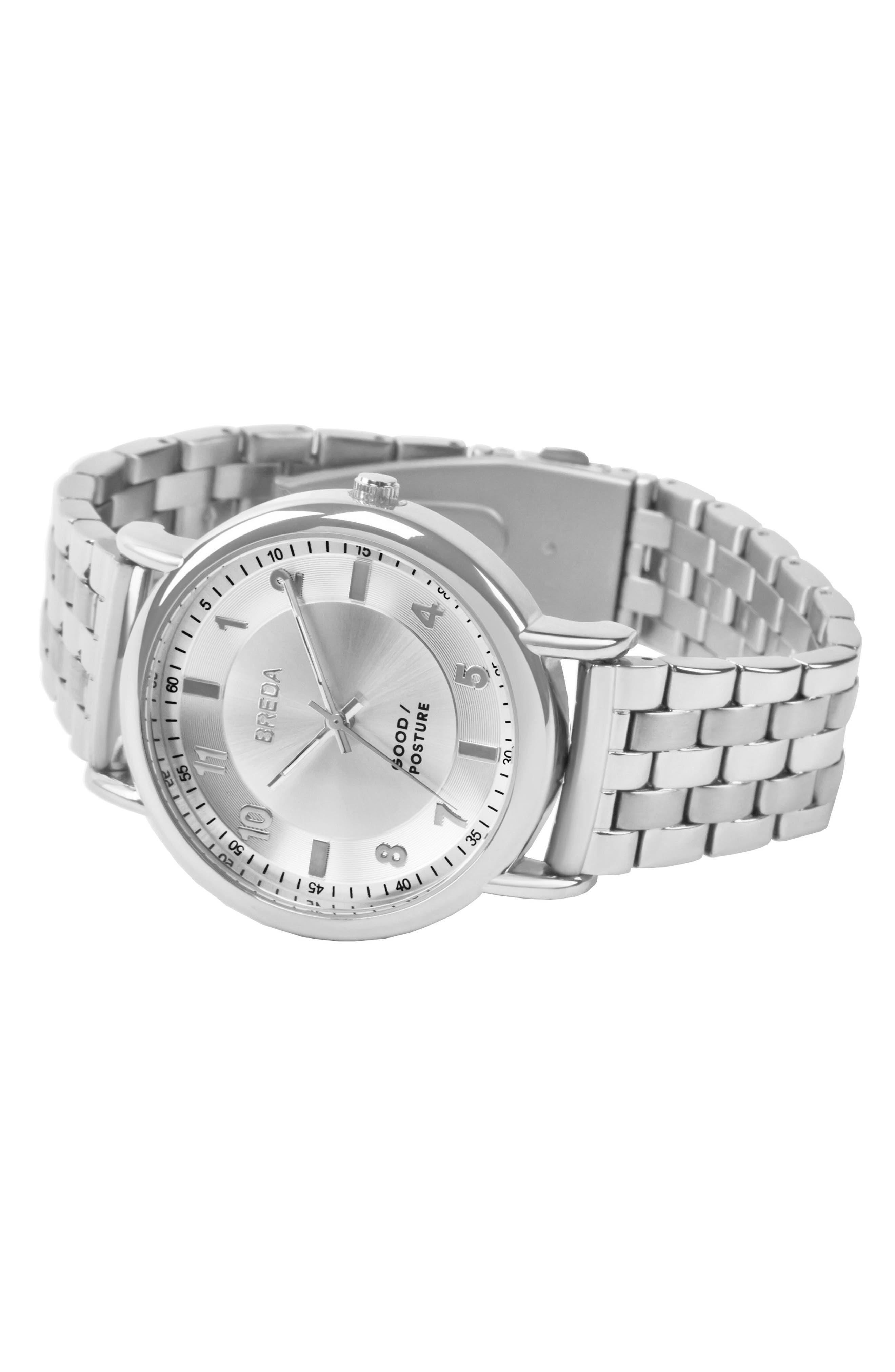 Blossom Round Bracelet Watch, 41mm,                             Alternate thumbnail 2, color,                             040