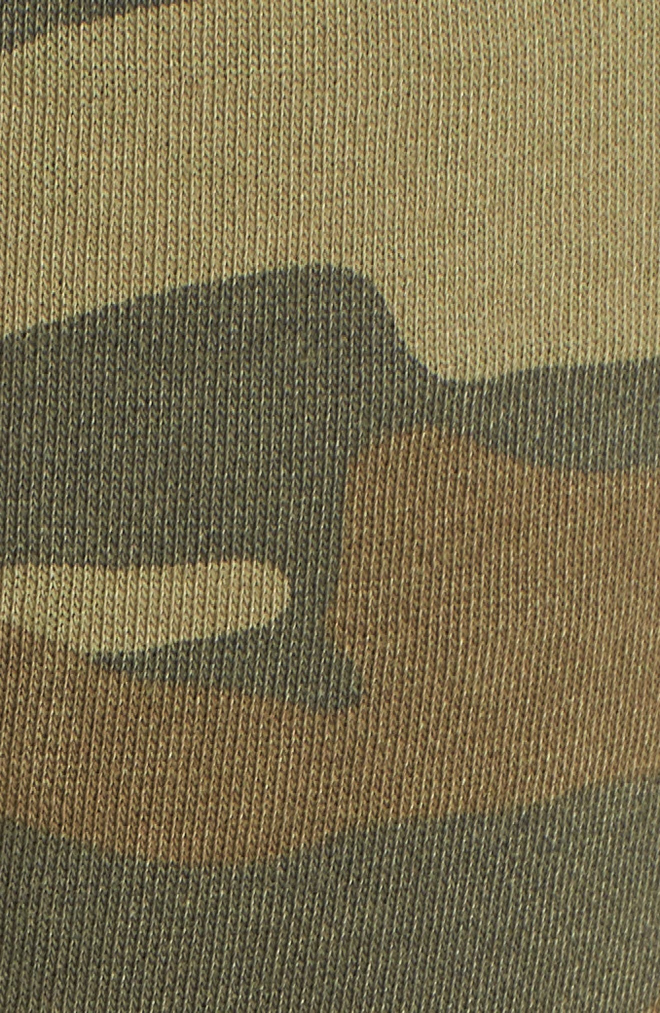 Long Weekend Camo Lounge Pants,                             Alternate thumbnail 5, color,                             CAMO