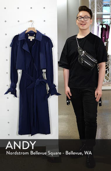 Drapey Trench Caot, sales video thumbnail