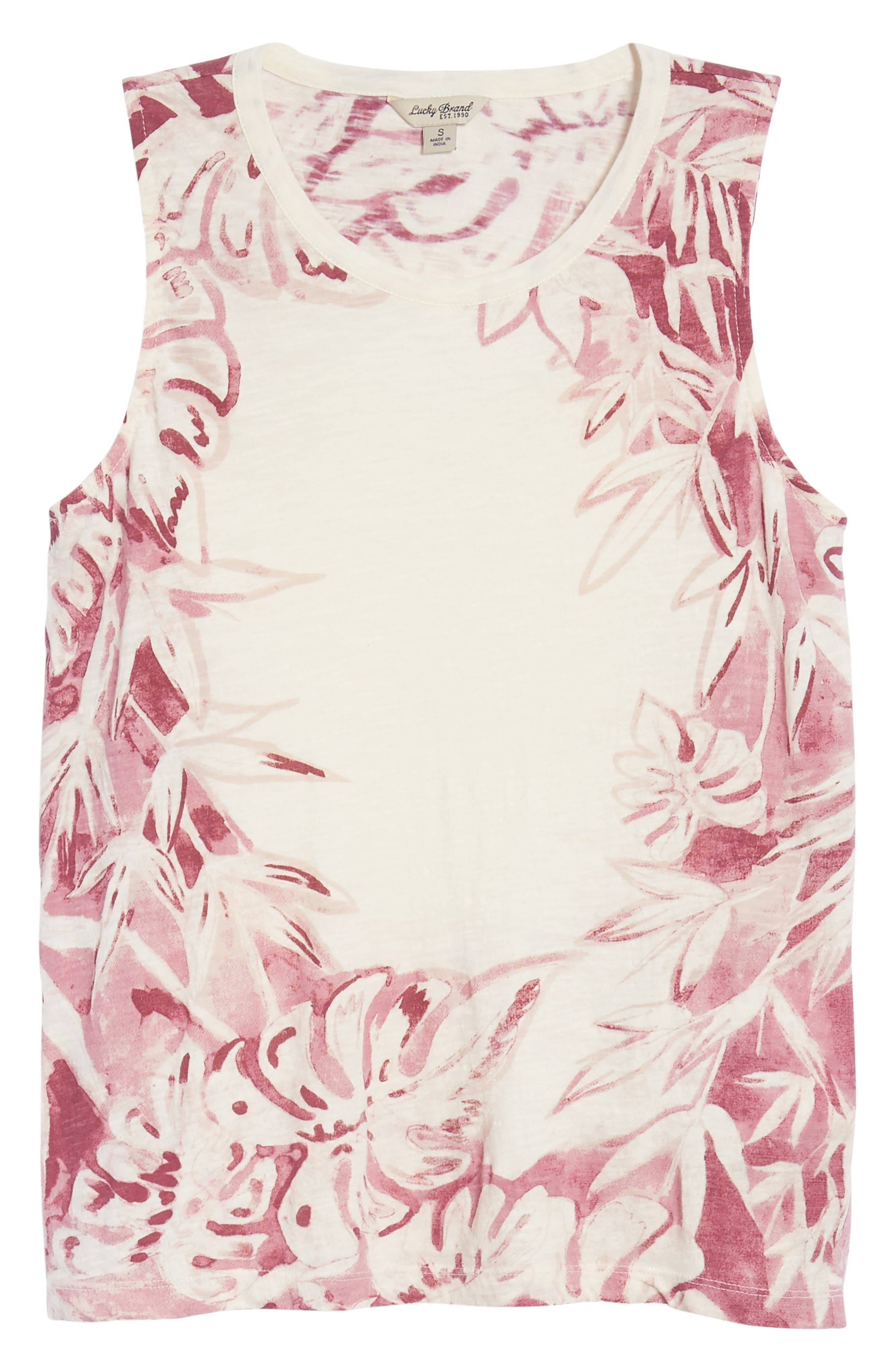 Printed Floral Tank,                             Alternate thumbnail 13, color,