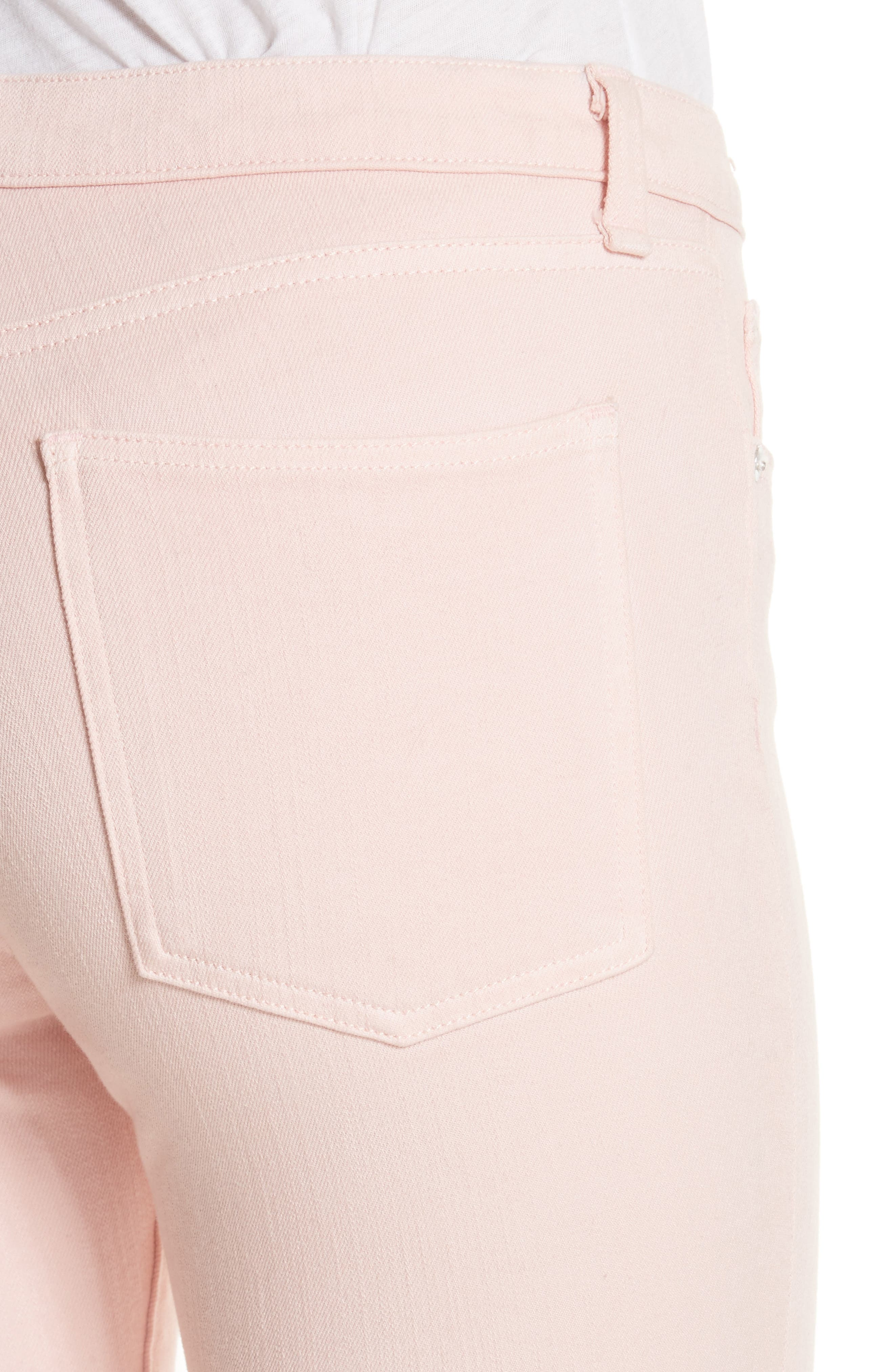 Debbie Frayed Crop Skinny Jeans,                             Alternate thumbnail 16, color,