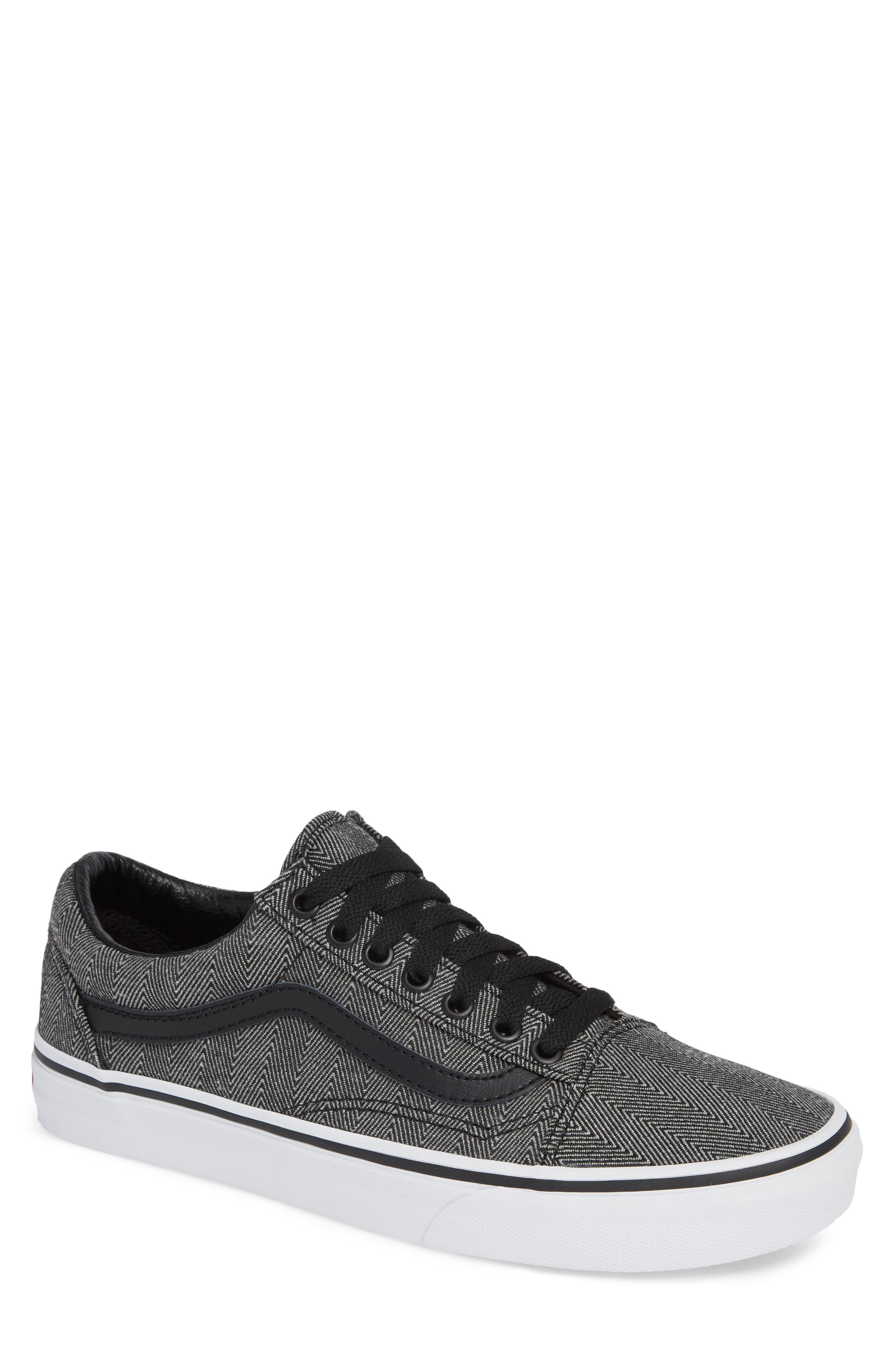 UA Old Skool Sneaker,                             Main thumbnail 1, color,                             BLACK/ TRUE WHITE