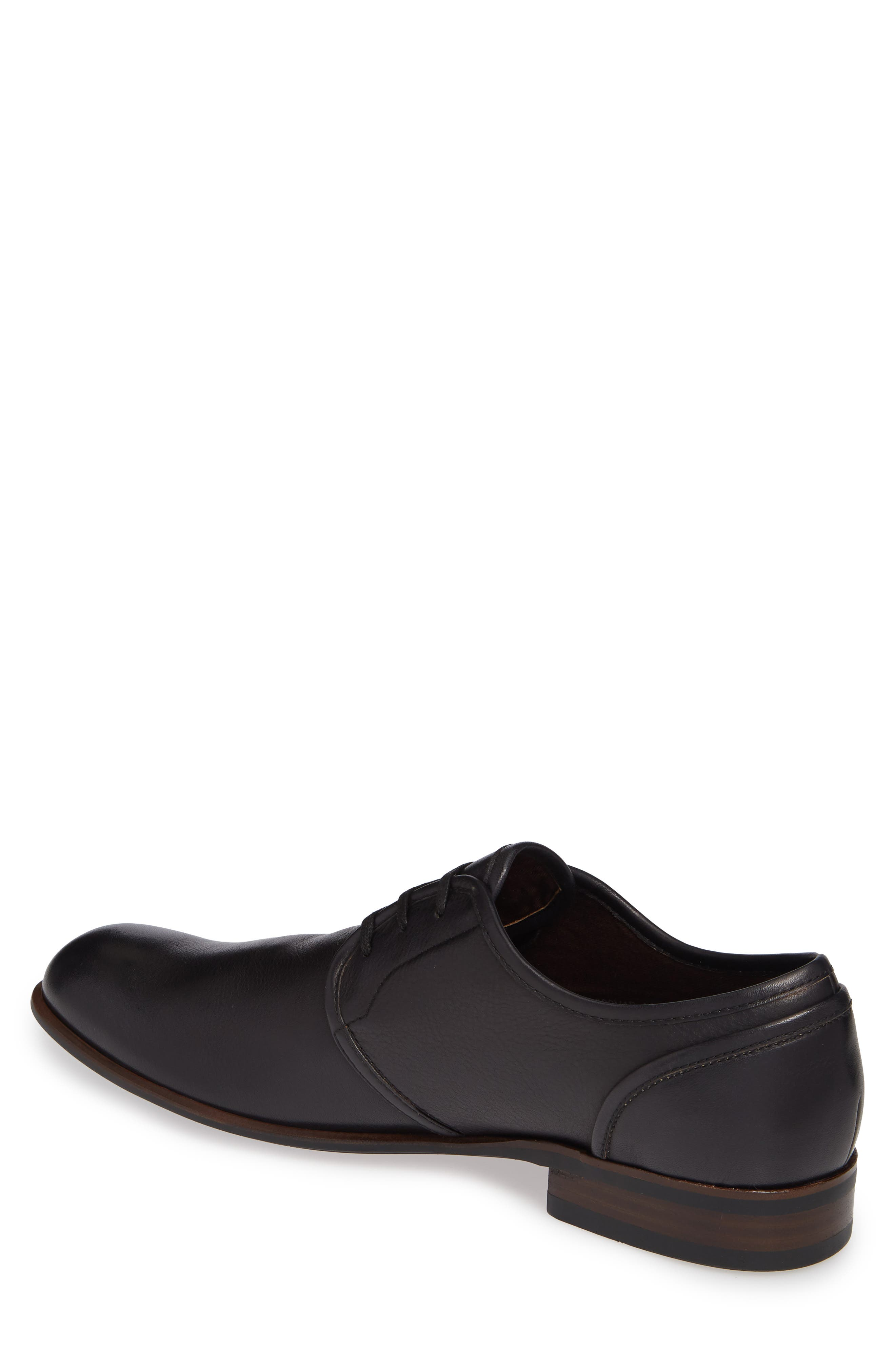 Star USA Seagher Plain Toe Derby,                             Alternate thumbnail 2, color,                             BLACK