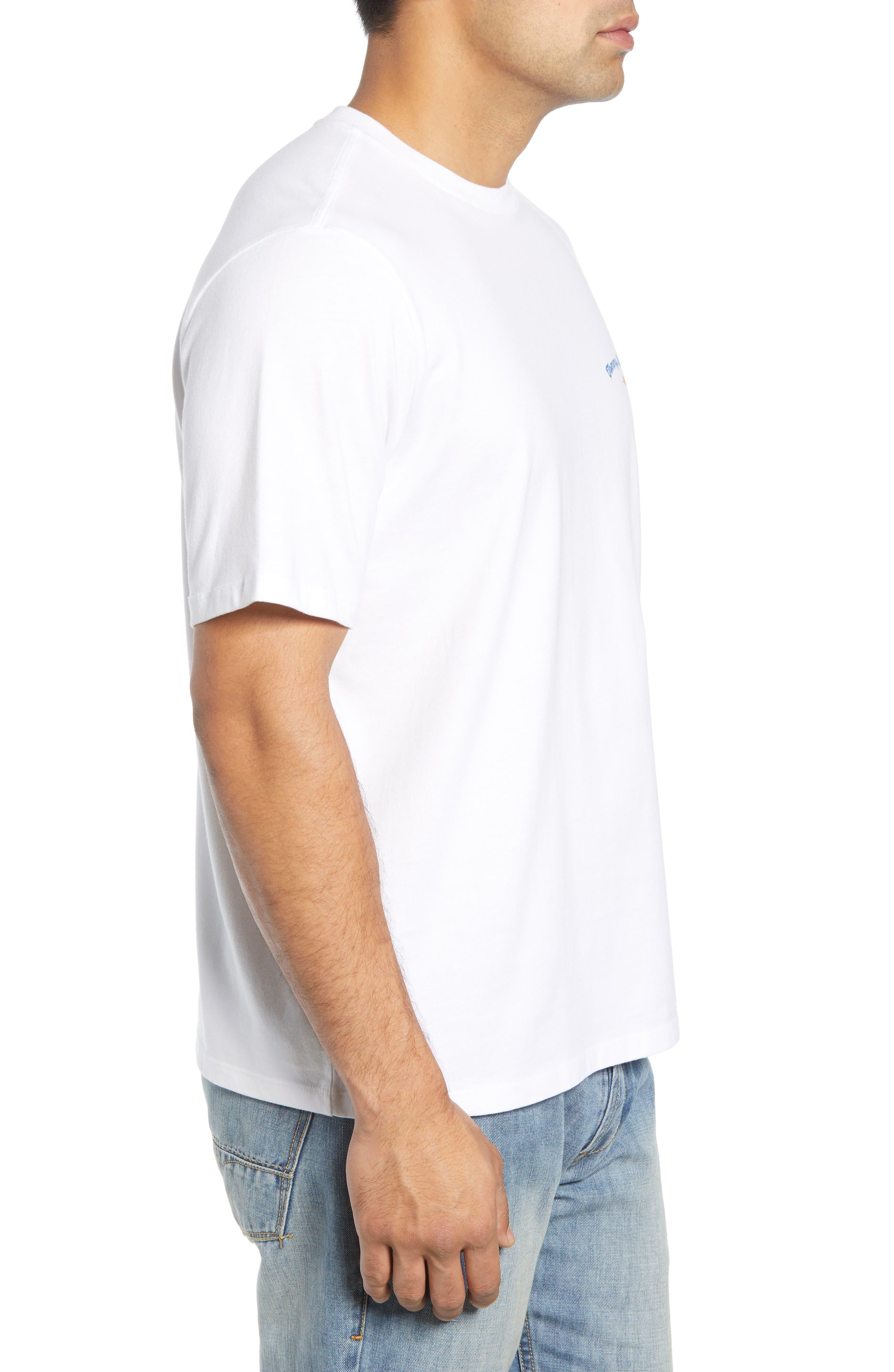 It's Glow Time T-Shirt,                             Alternate thumbnail 3, color,                             WHITE