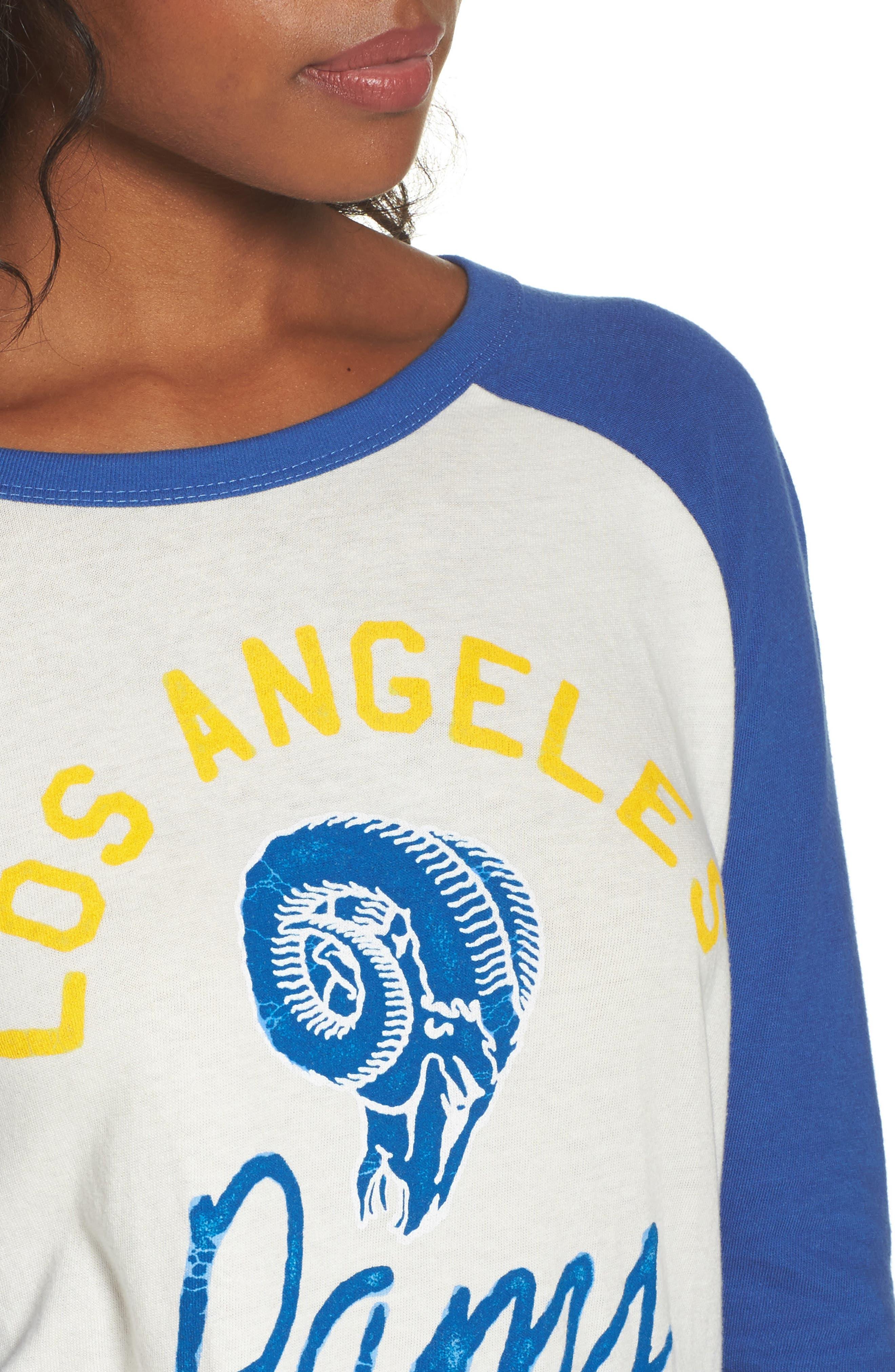 NFL Los Angeles Rams Raglan Tee,                             Alternate thumbnail 4, color,                             189
