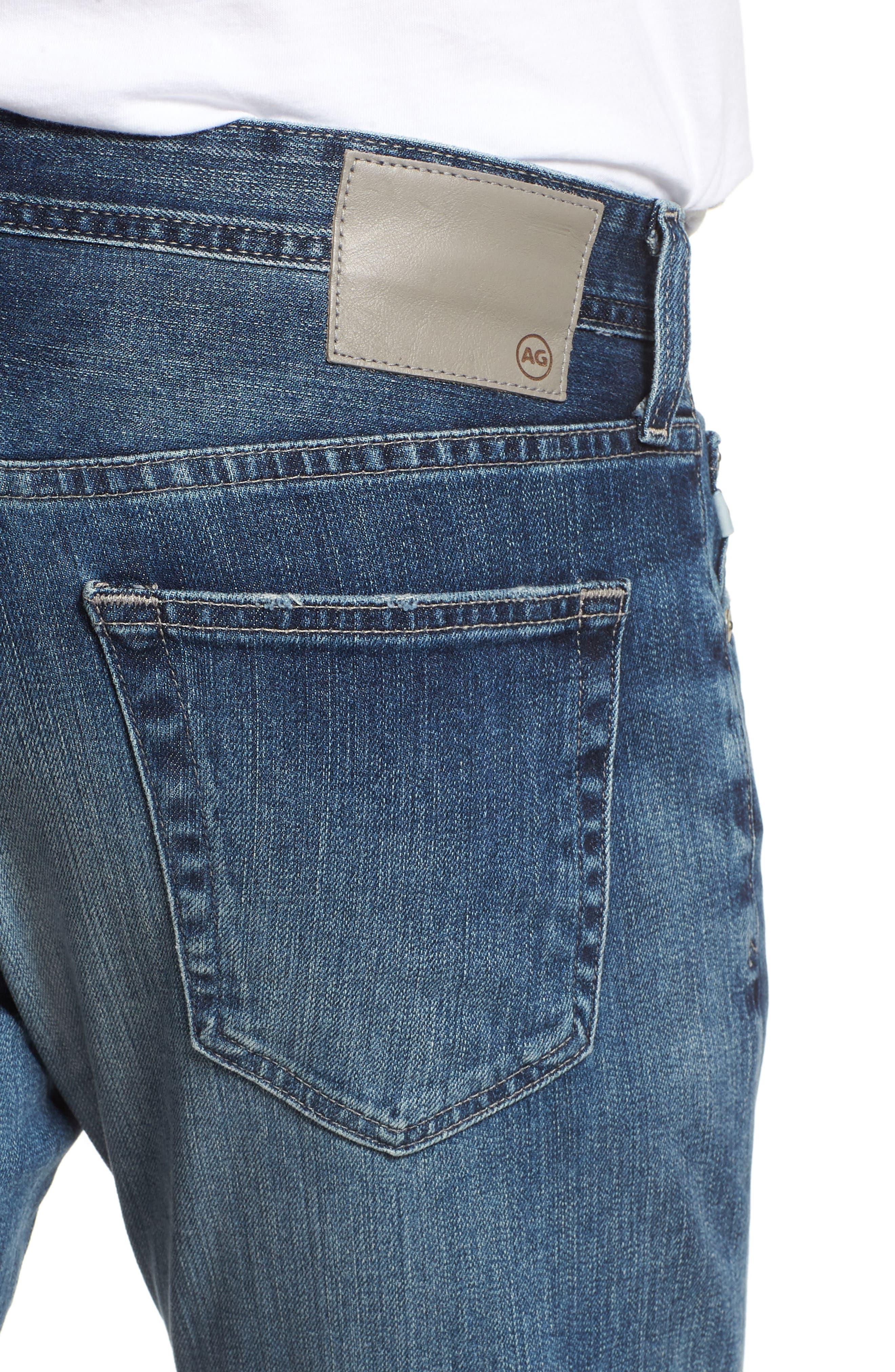 AG,                             Tellis Slim Fit Jeans,                             Alternate thumbnail 4, color,                             417