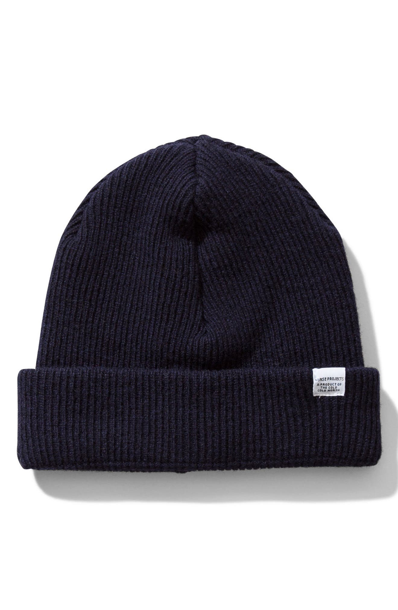 Norse Project Wool Knit Cap,                             Alternate thumbnail 2, color,                             410