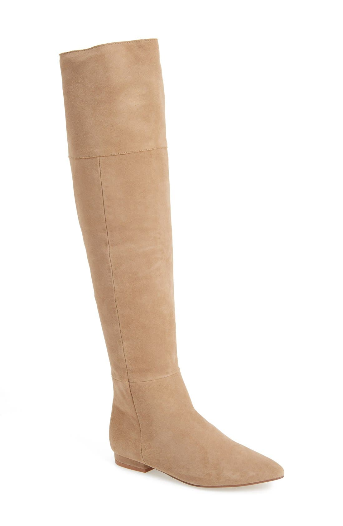 'York' Over the Knee Boot,                             Main thumbnail 1, color,                             250