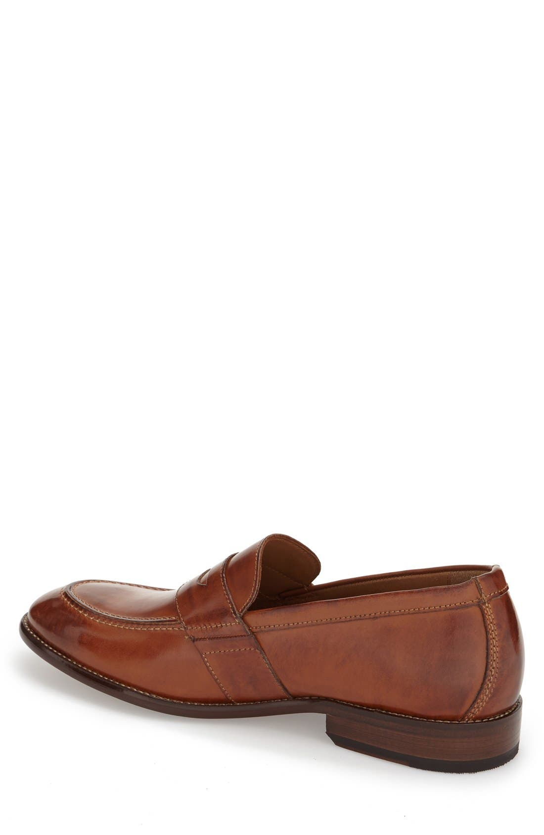 J & M 1850 'Allred' Penny Loafer,                             Alternate thumbnail 3, color,                             240