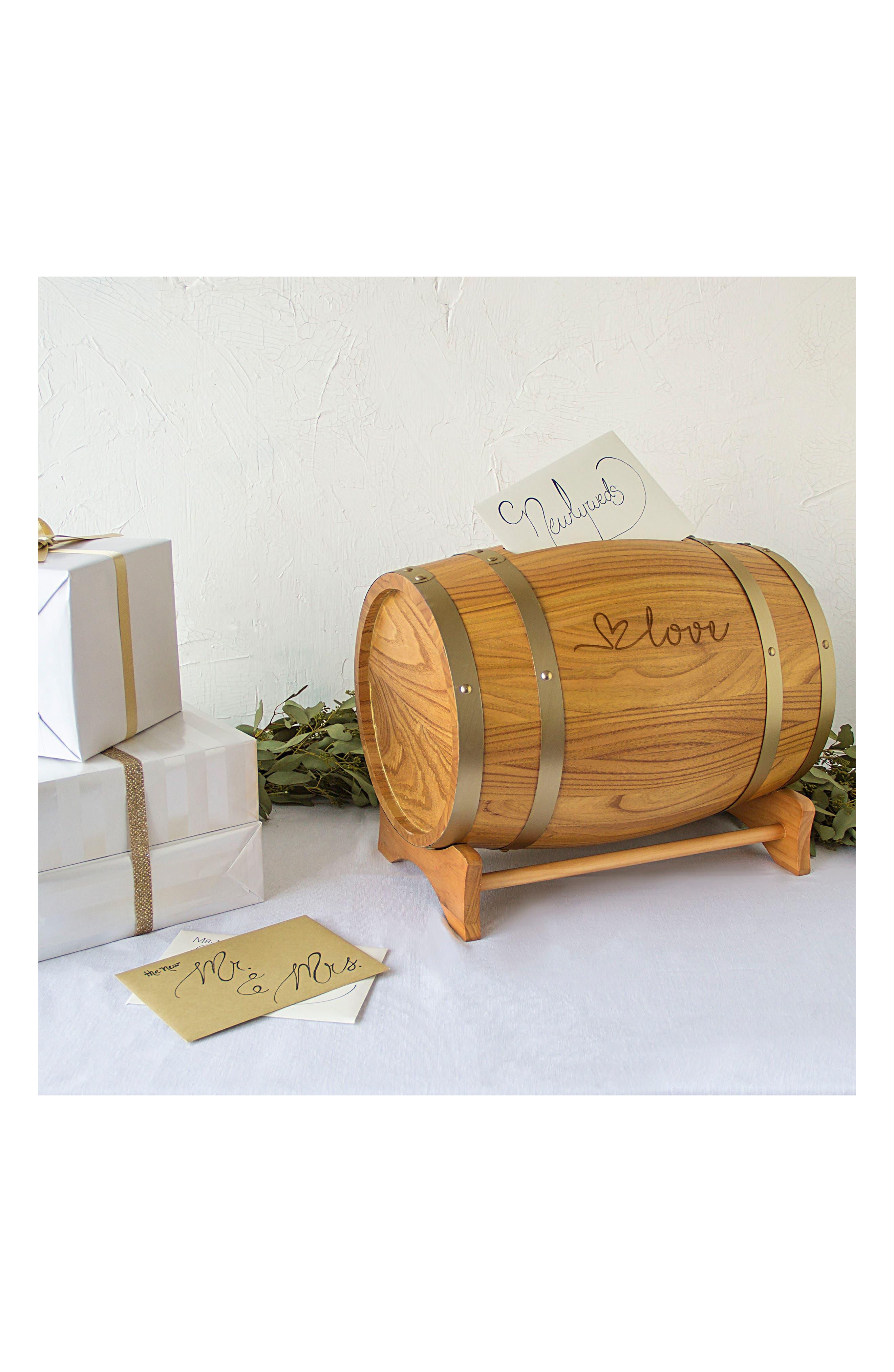 Wine Barrel Reception Card Holder,                             Alternate thumbnail 32, color,