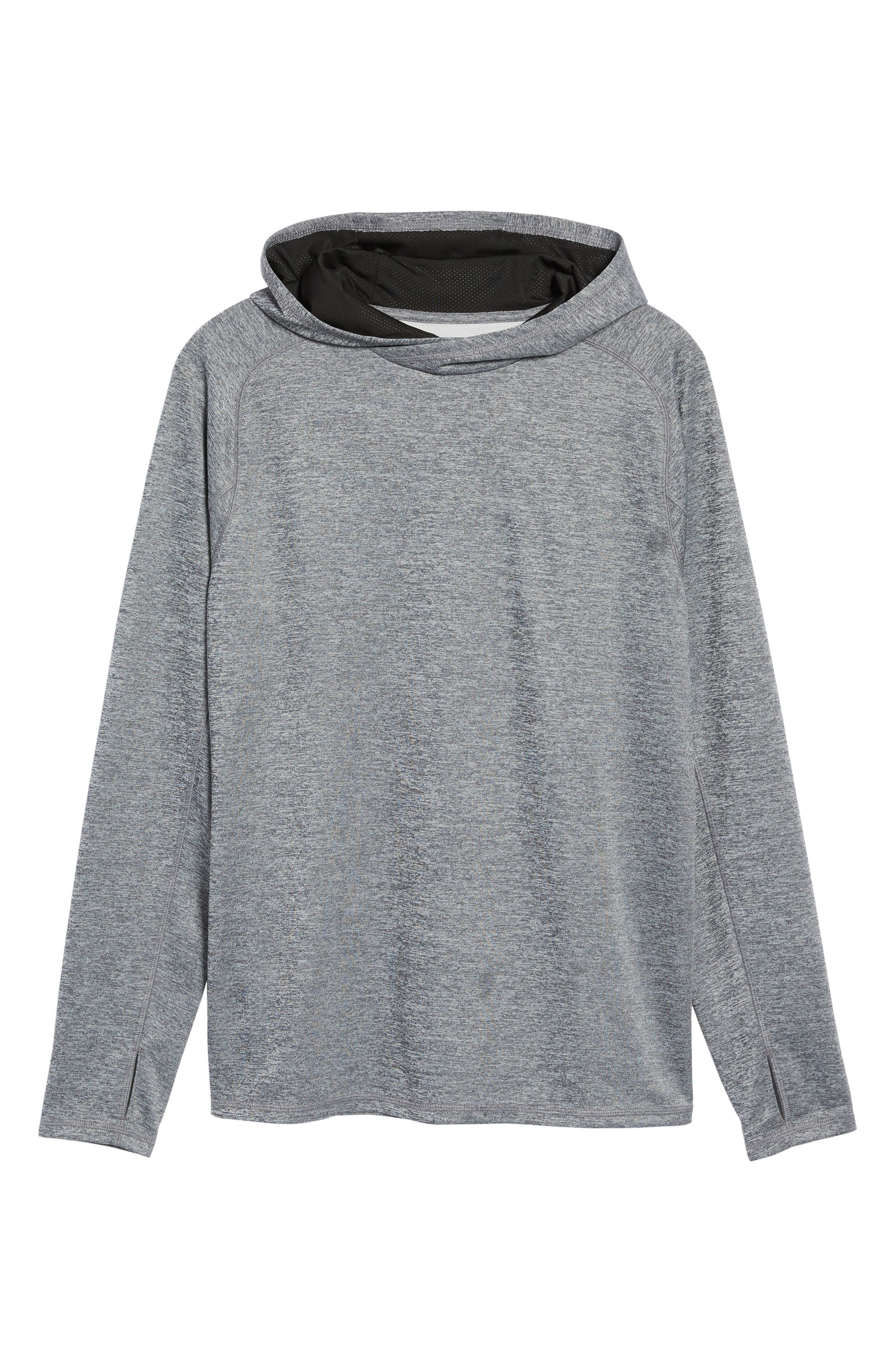 Lightweight Pullover Hoodie,                             Alternate thumbnail 17, color,