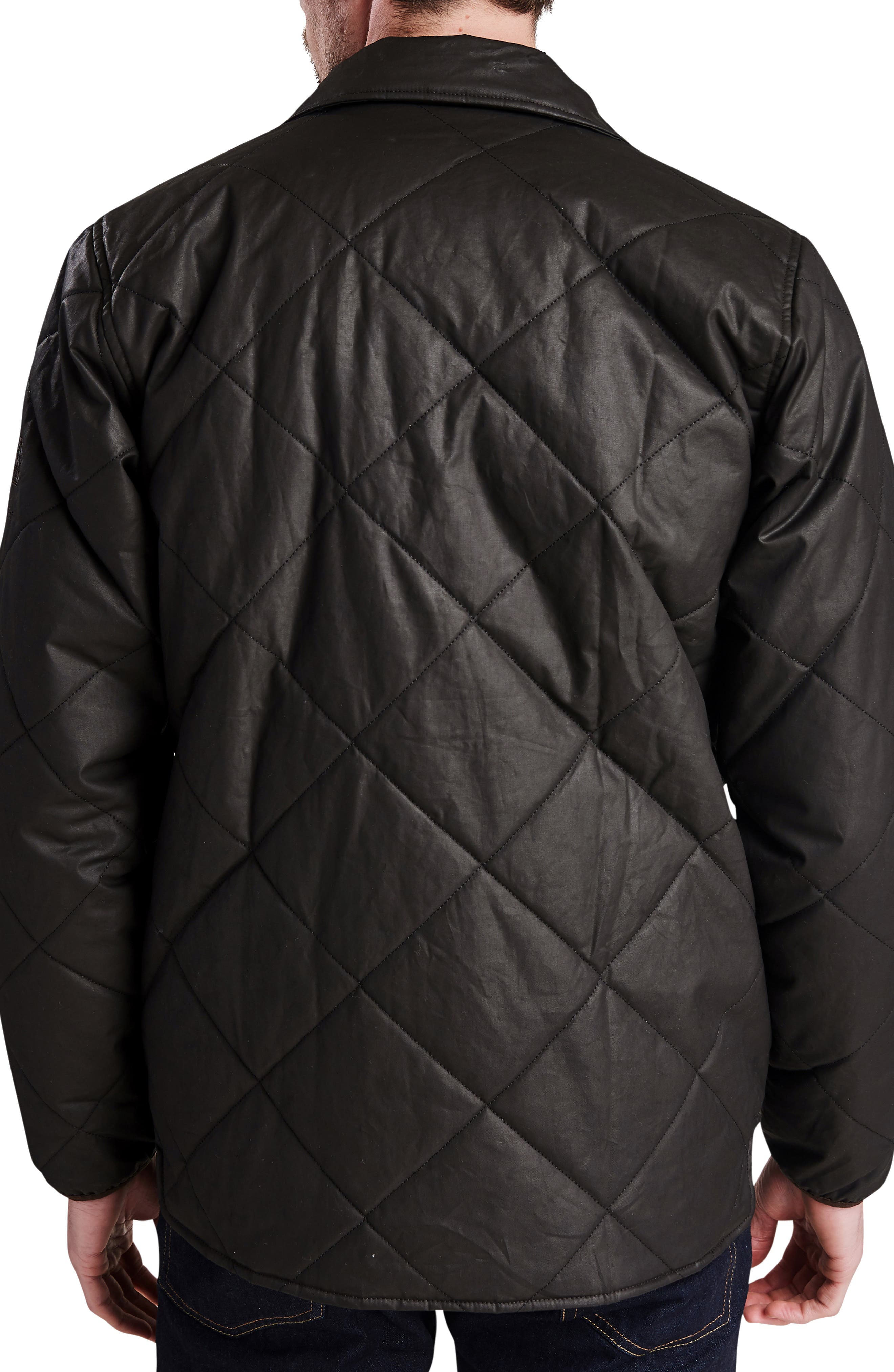 International Sonoran Quilted Shirt Jacket,                             Alternate thumbnail 2, color,                             BROWN