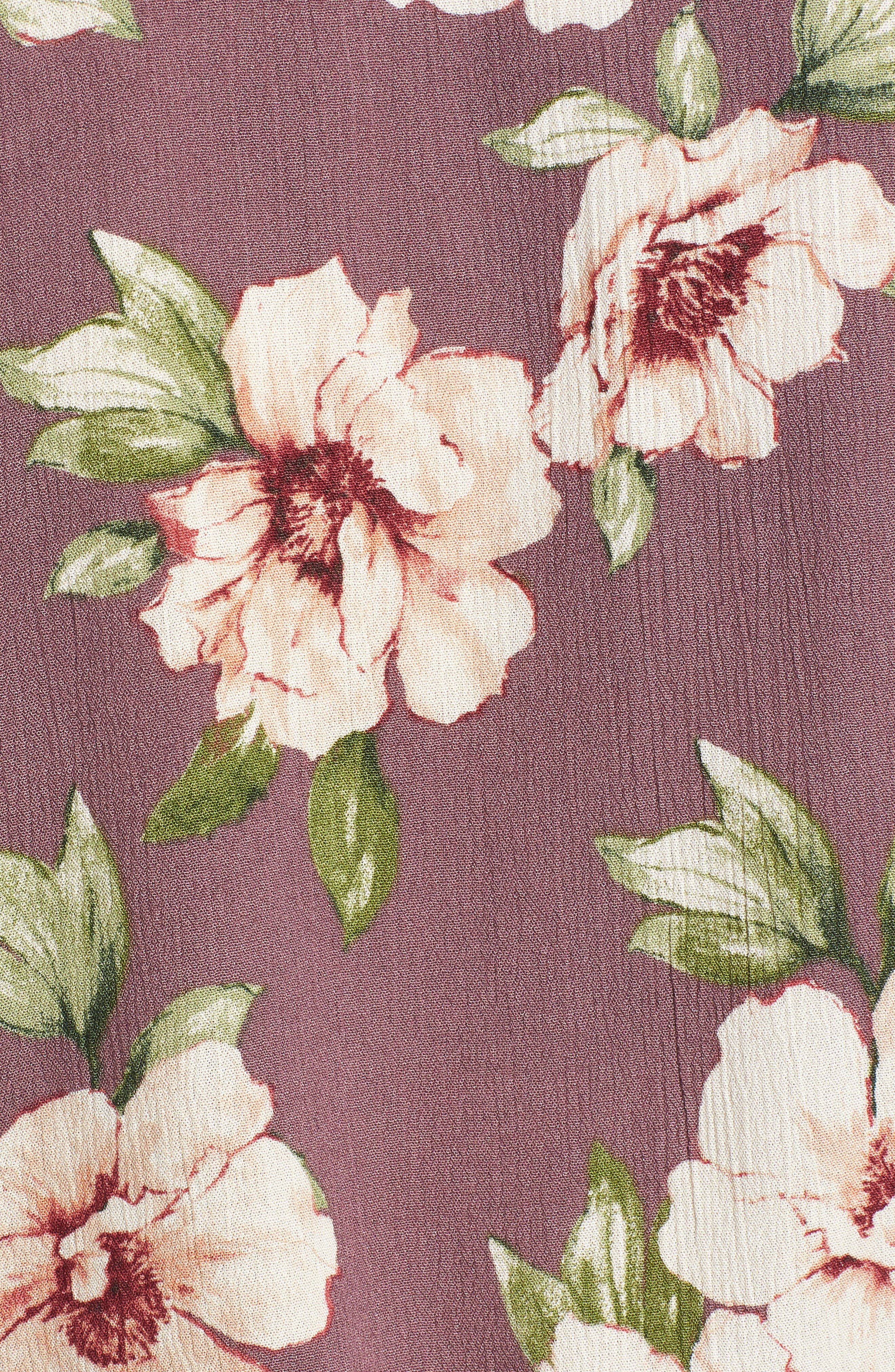 Print Tie Waist Top,                             Alternate thumbnail 6, color,                             501