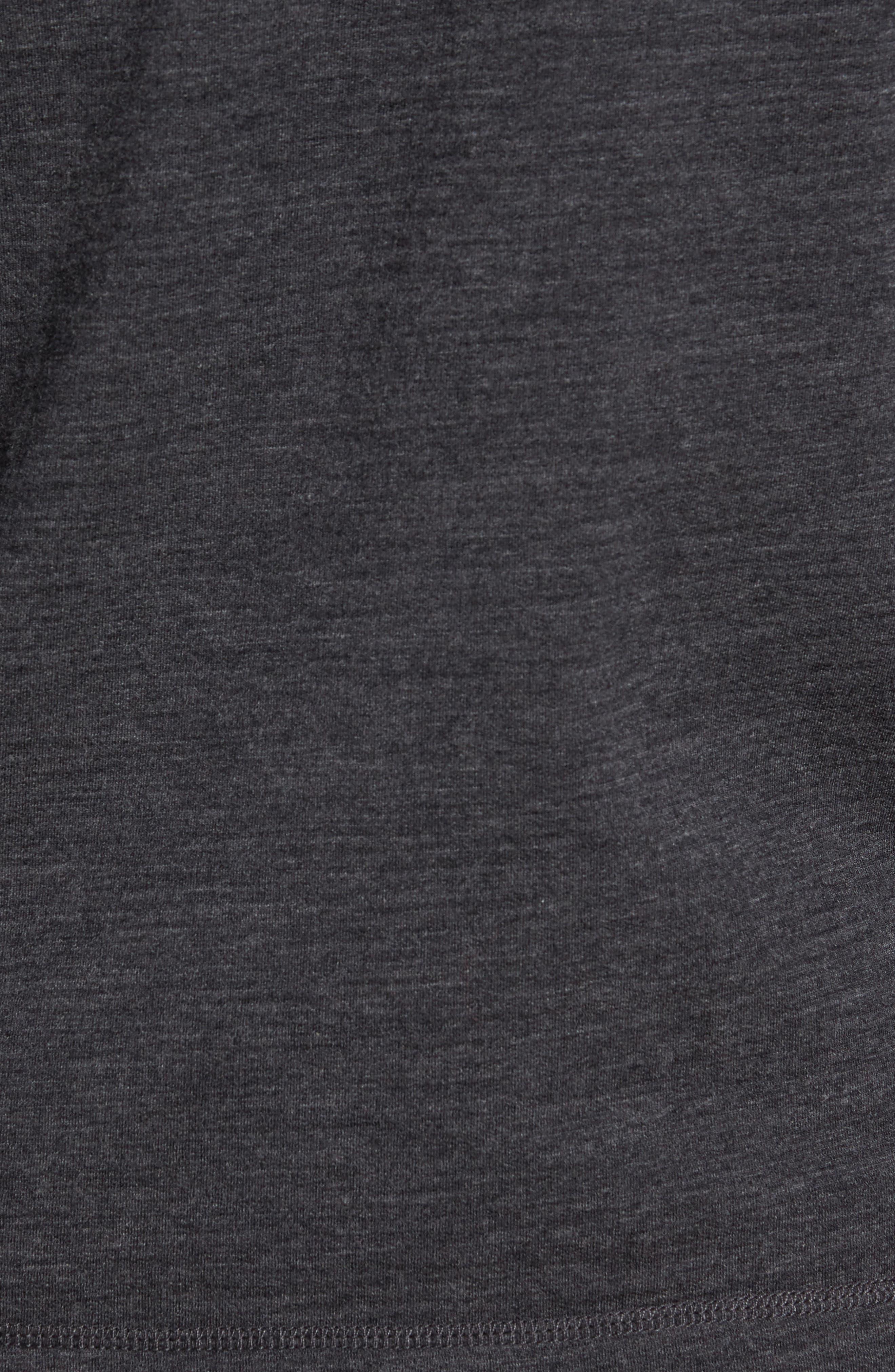 Merino Wool Quarter Zip Pullover,                             Alternate thumbnail 5, color,                             010