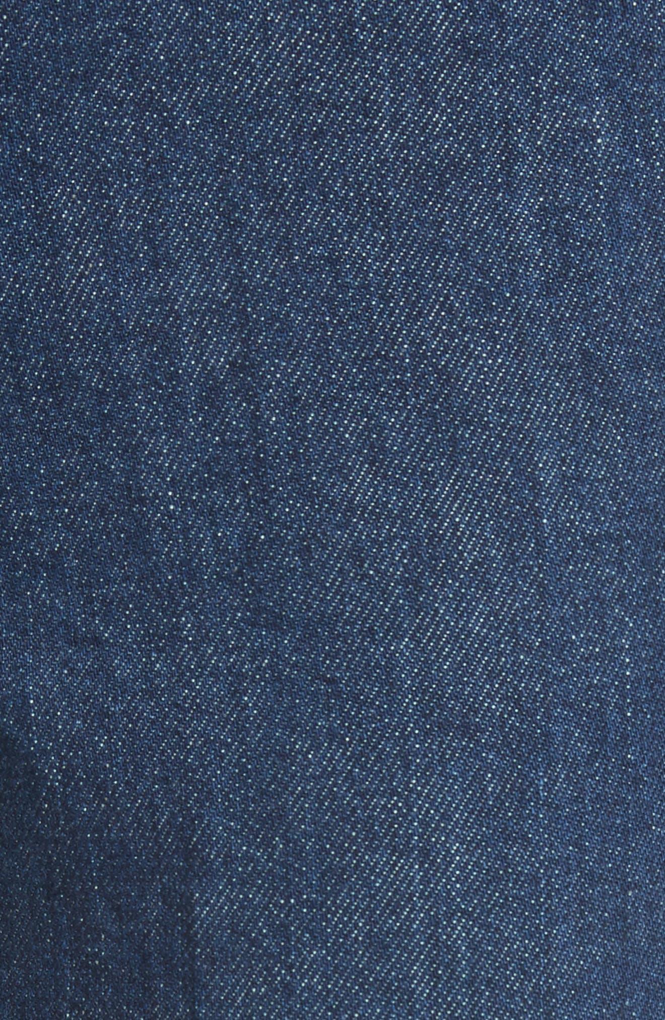 Crop Skinny Jeans,                             Alternate thumbnail 5, color,                             465