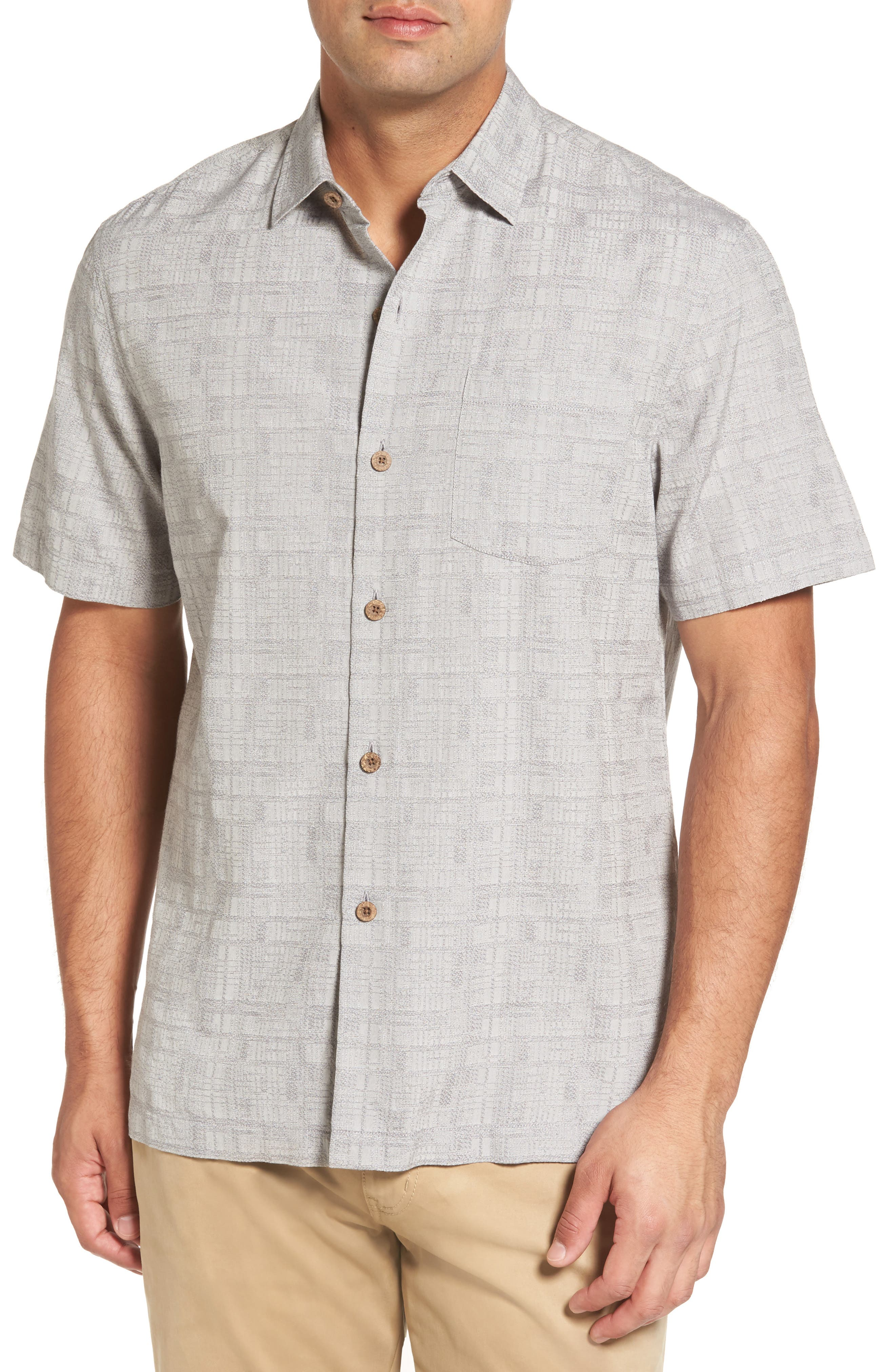 Oceanside Woven Shirt,                             Main thumbnail 4, color,