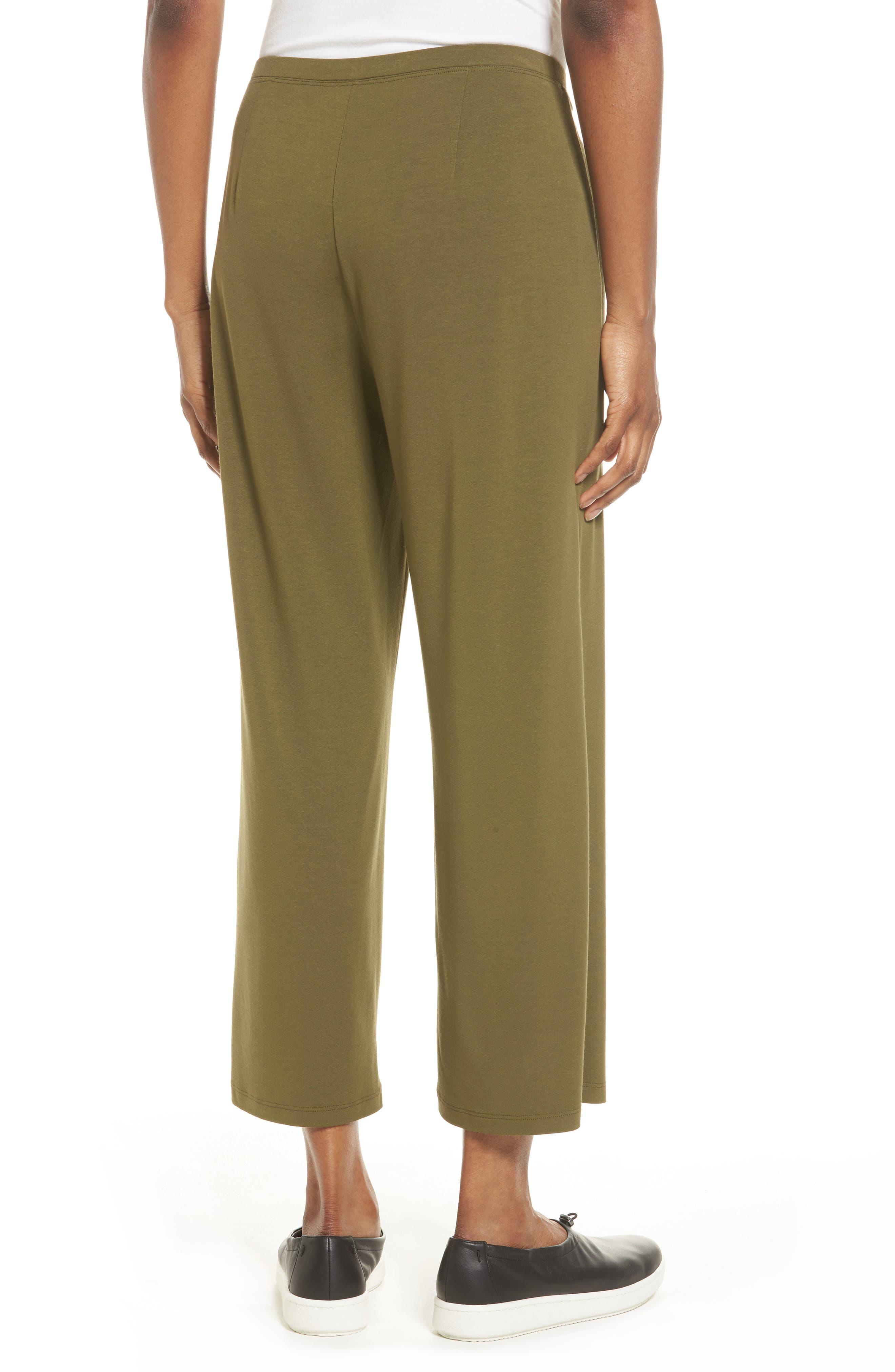 Crop Jersey Pants,                             Alternate thumbnail 7, color,
