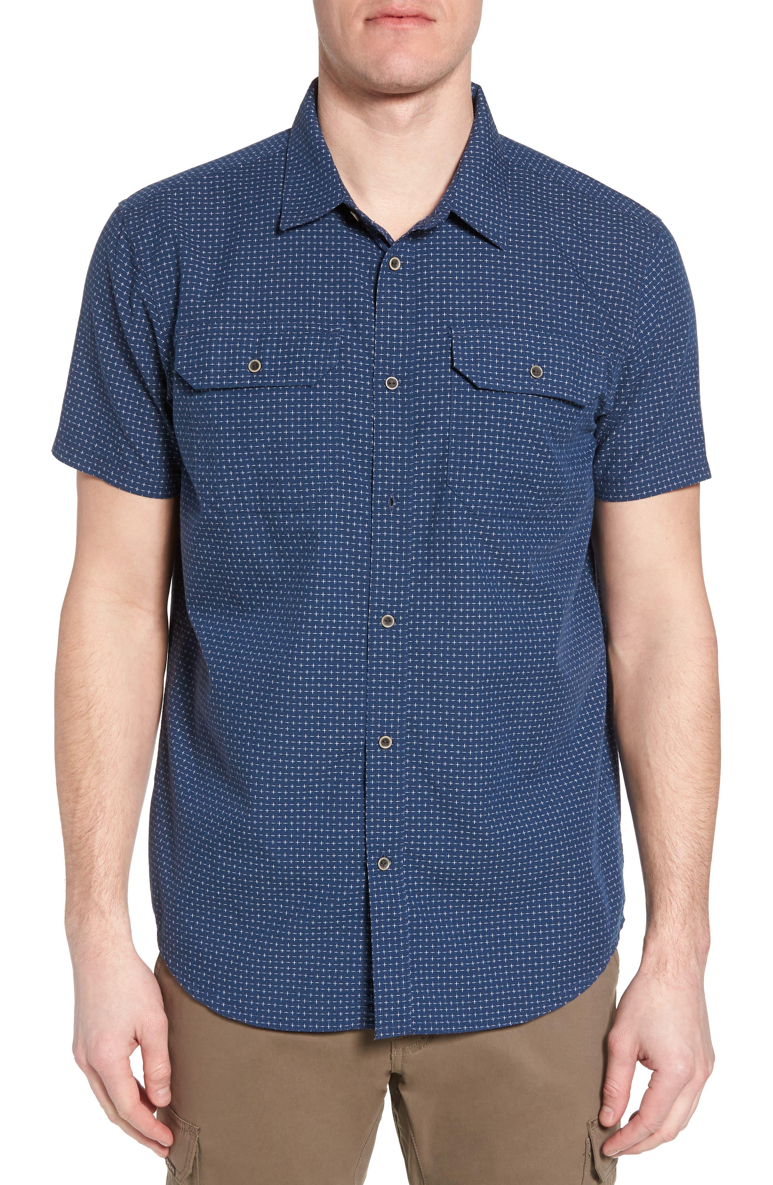 Blakely Slim Fit Short Sleeve Sport Shirt,                             Main thumbnail 2, color,
