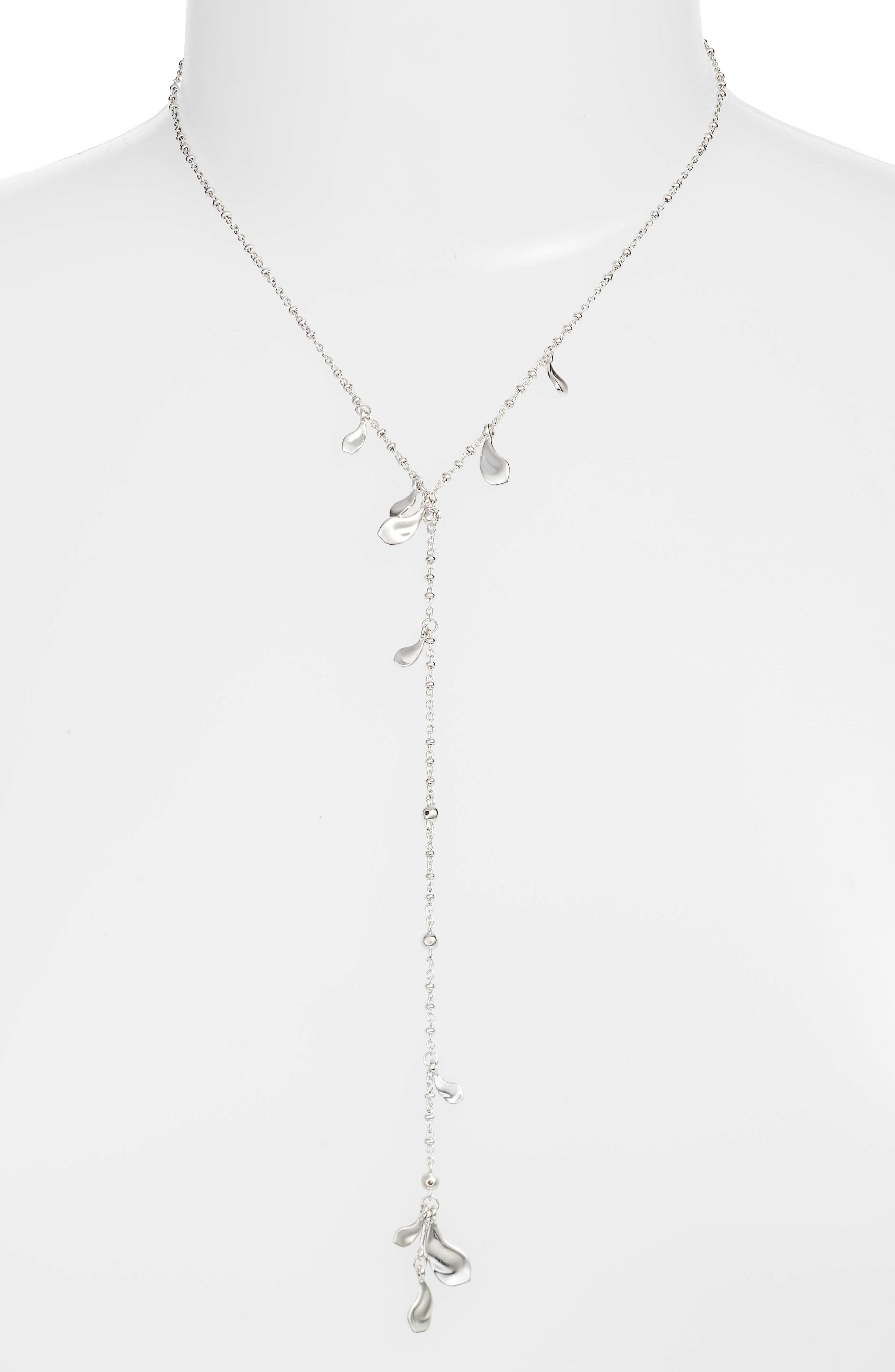 Quincy Necklace in Silver
