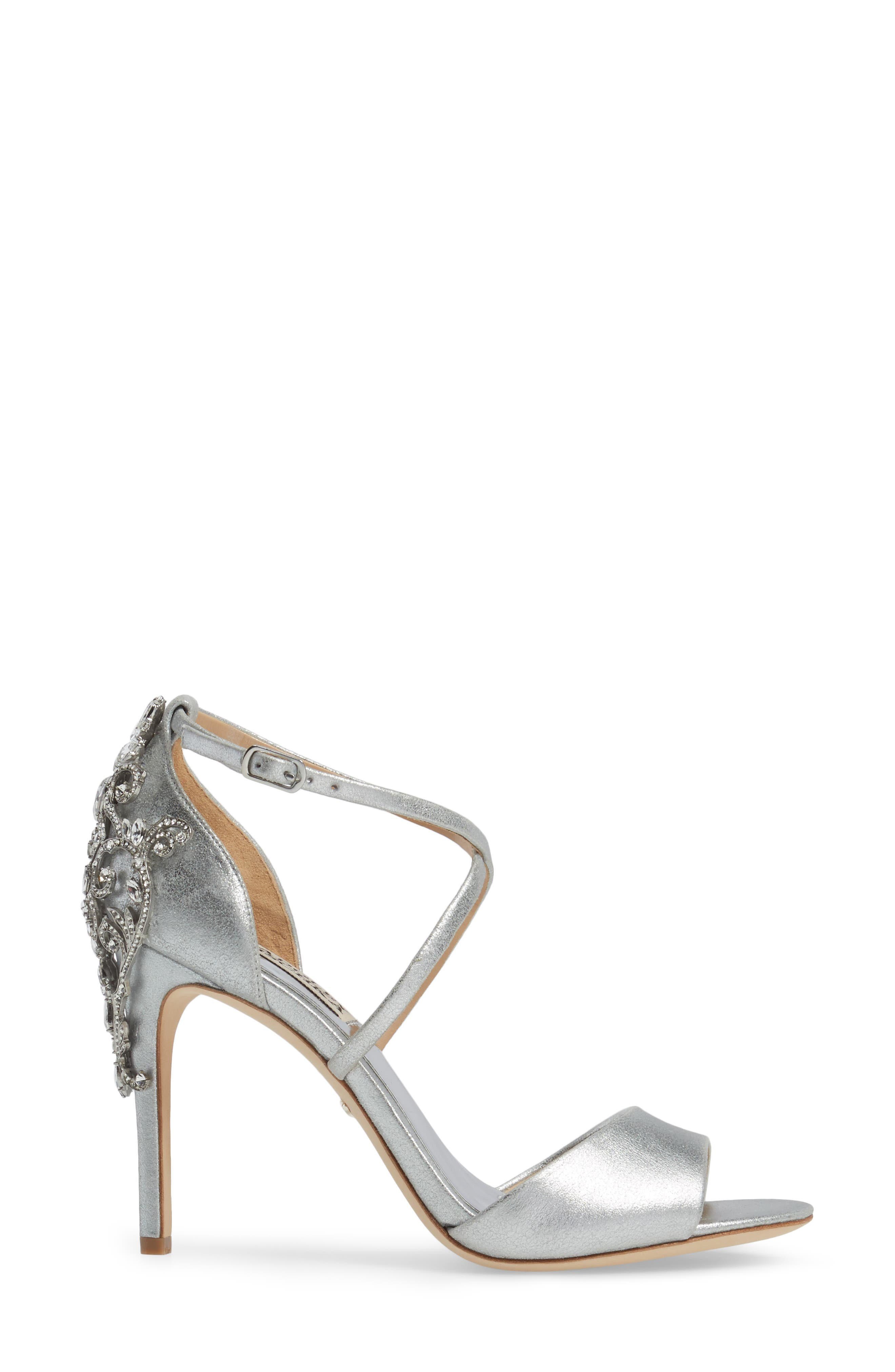 Karmen Crystal Back Sandal,                             Alternate thumbnail 9, color,