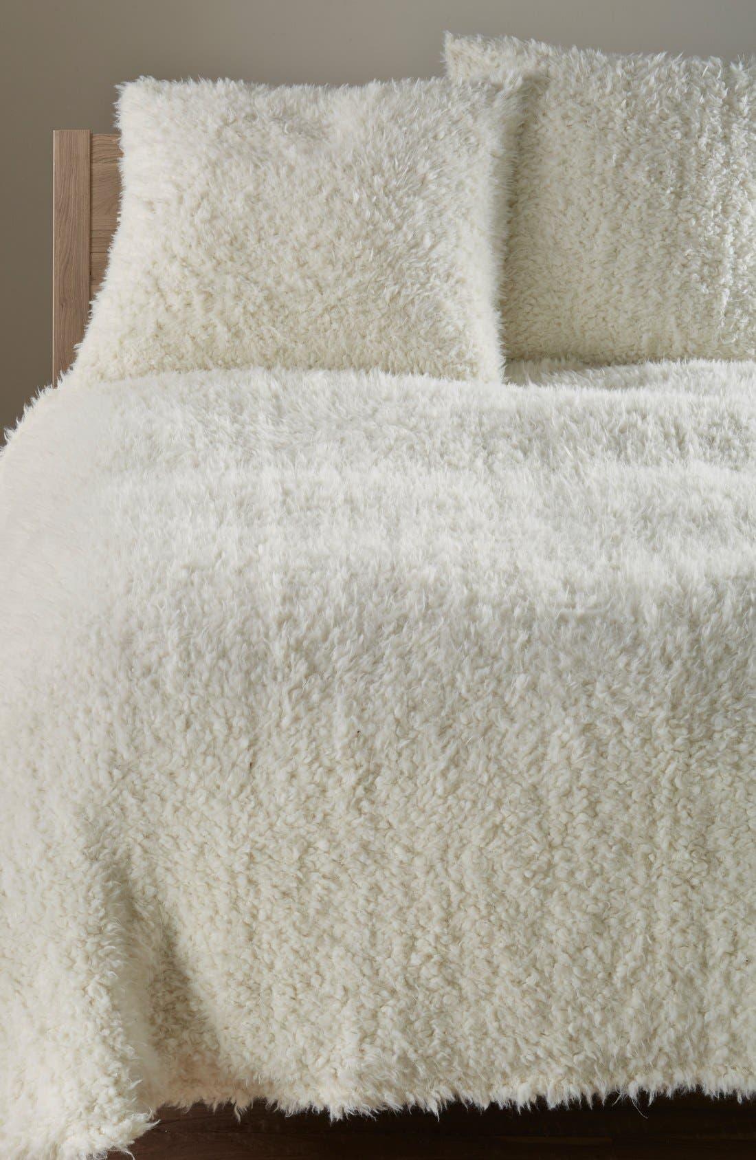 'Shaggy Plush' Faux Fur Blanket,                             Alternate thumbnail 2, color,                             900
