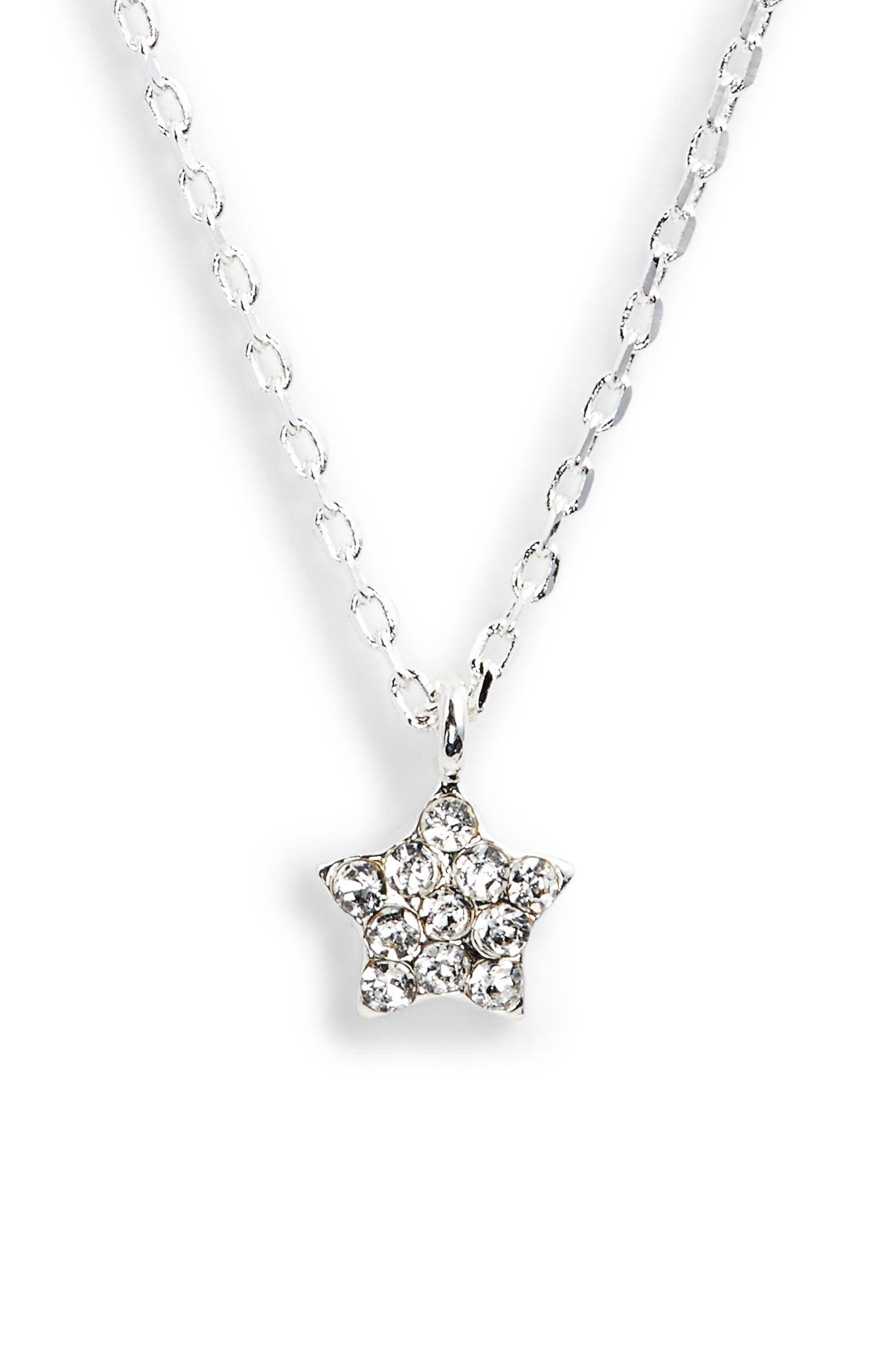 Star Pendant Necklace,                         Main,                         color, 040