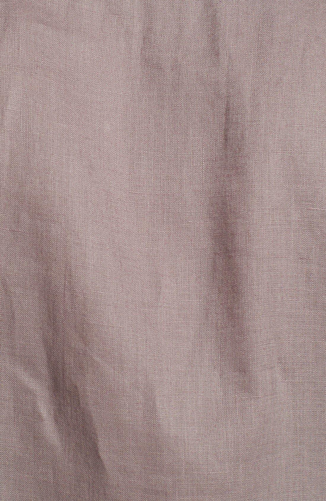 'Caroubier' Linen Shirt,                             Alternate thumbnail 43, color,