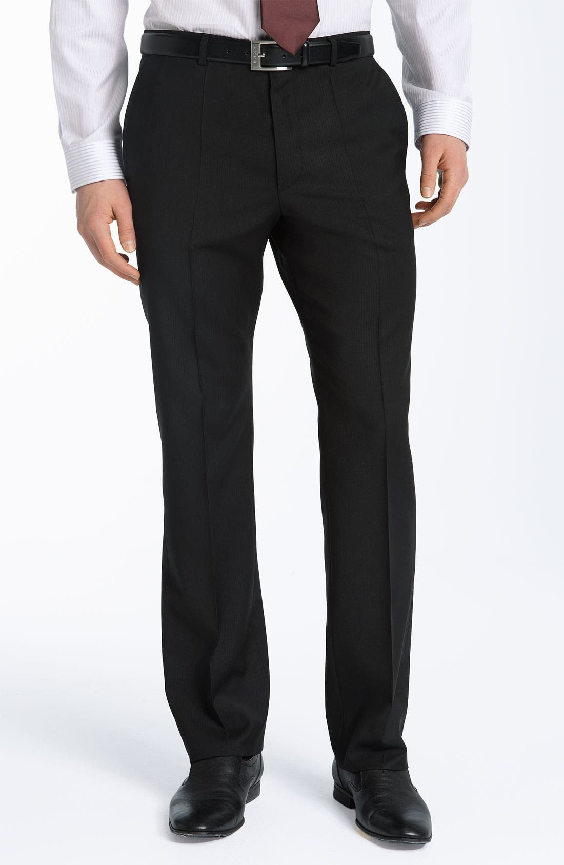 HUGO 'Astro/Hill' Extra Trim Fit Wool Suit,                             Alternate thumbnail 2, color,                             001