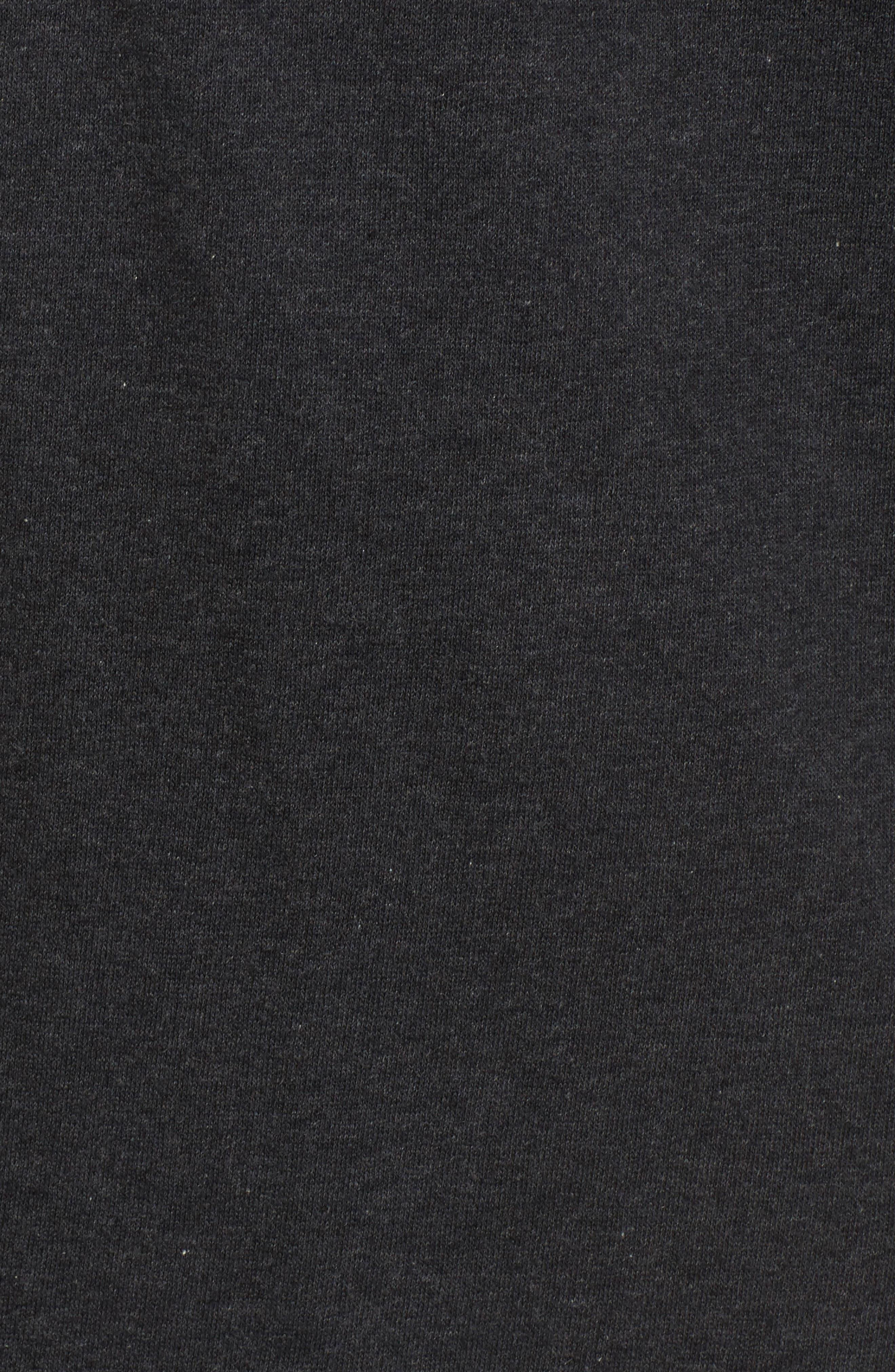 Lace-Up Sweatshirt Dress,                             Alternate thumbnail 5, color,                             020