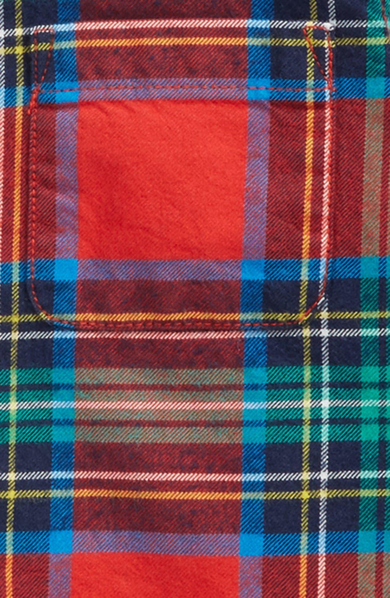 Cozy Festive Plaid Shirt,                             Alternate thumbnail 2, color,                             614