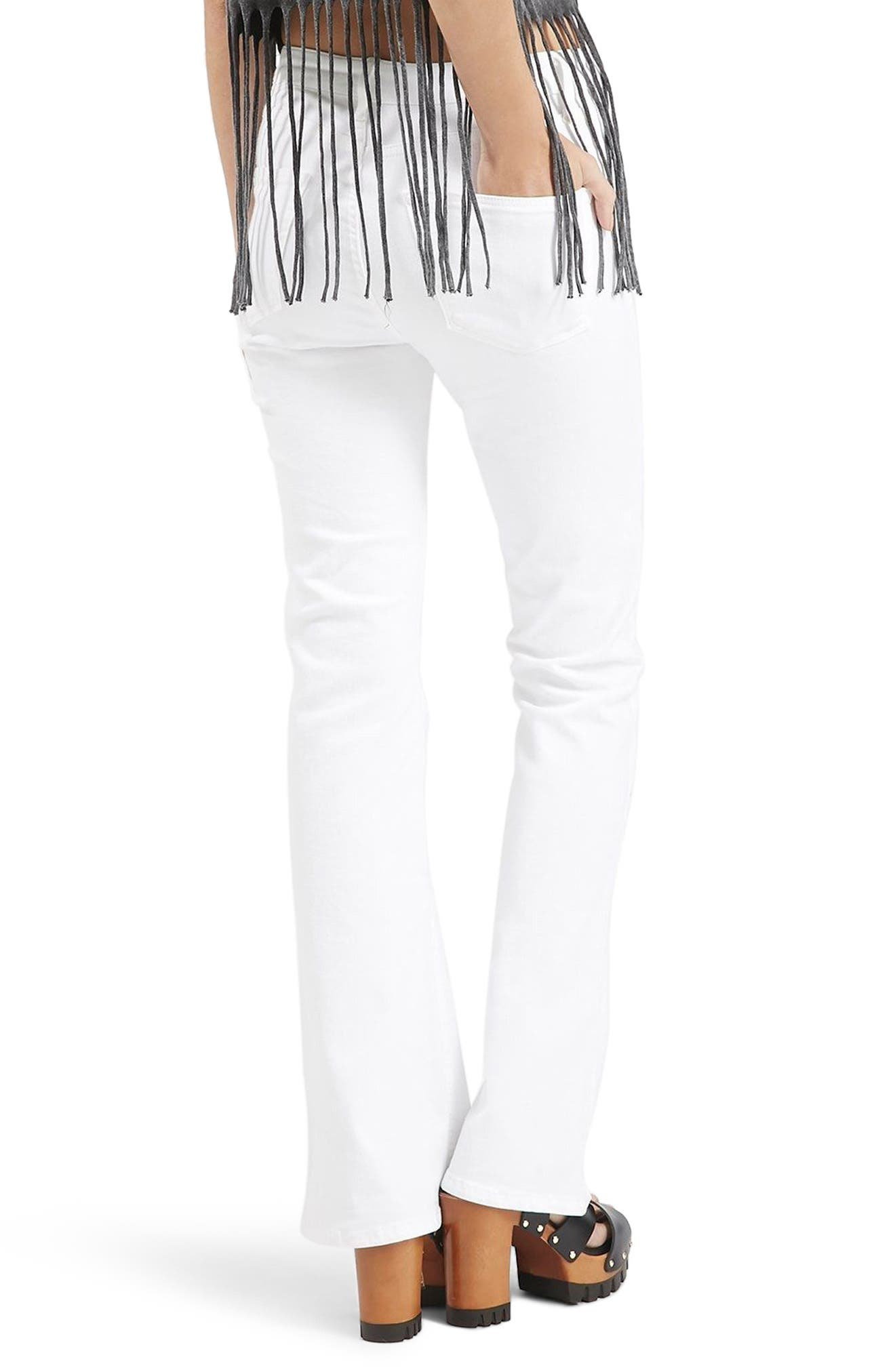 Jamie Flare Jeans,                             Alternate thumbnail 3, color,