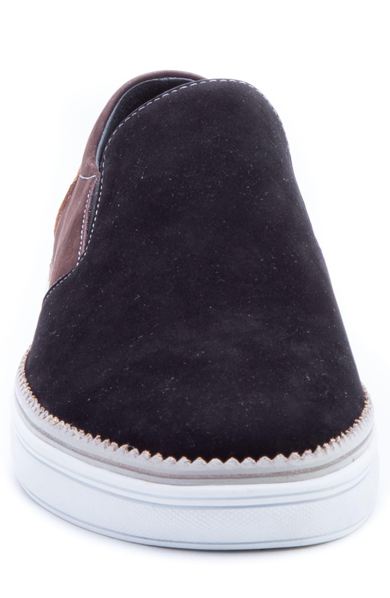 ZANZARA,                             Rivera Colorblocked Slip-On Sneaker,                             Alternate thumbnail 4, color,                             001