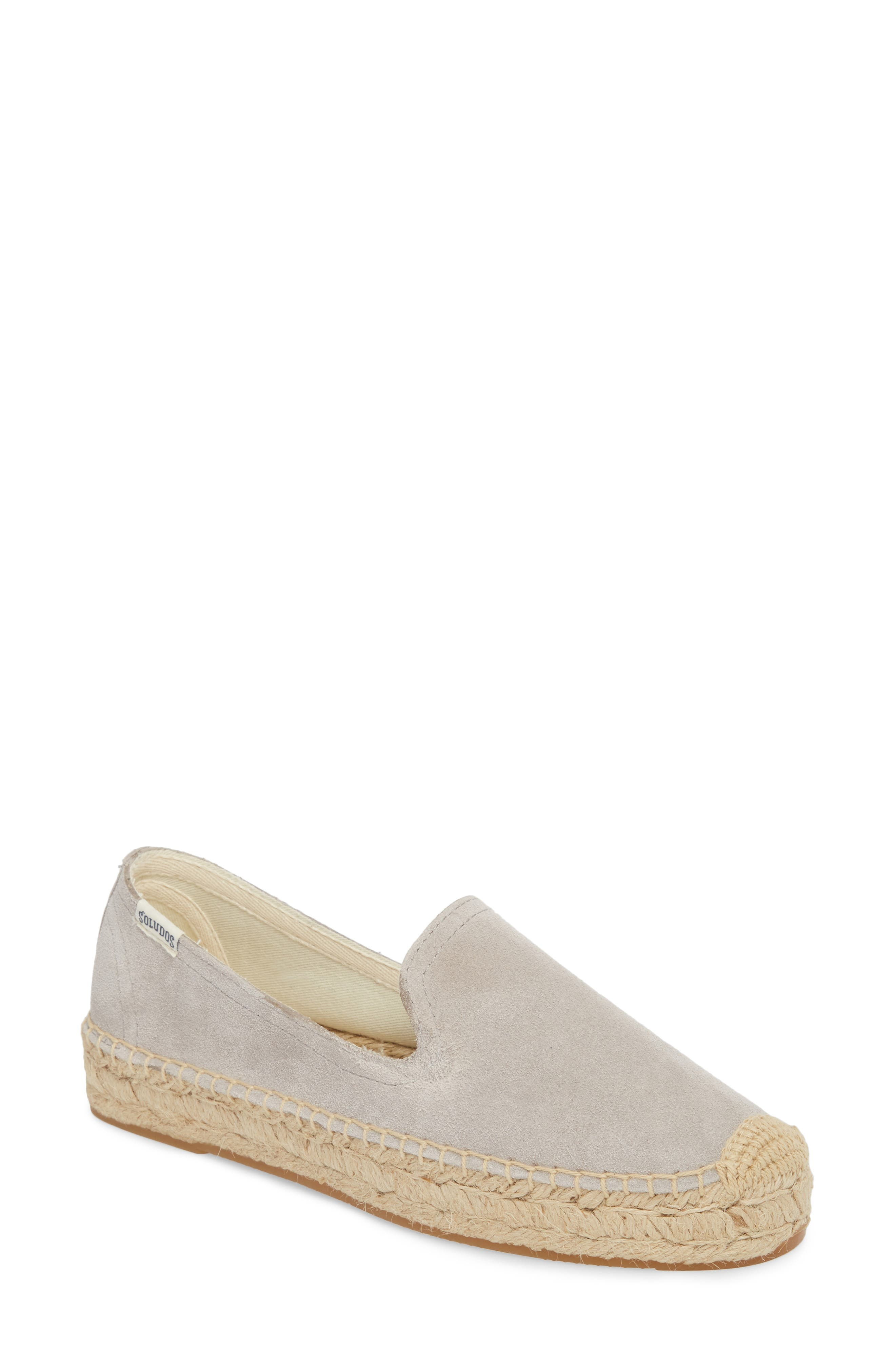 Espadrille Loafer,                             Main thumbnail 1, color,                             STONE