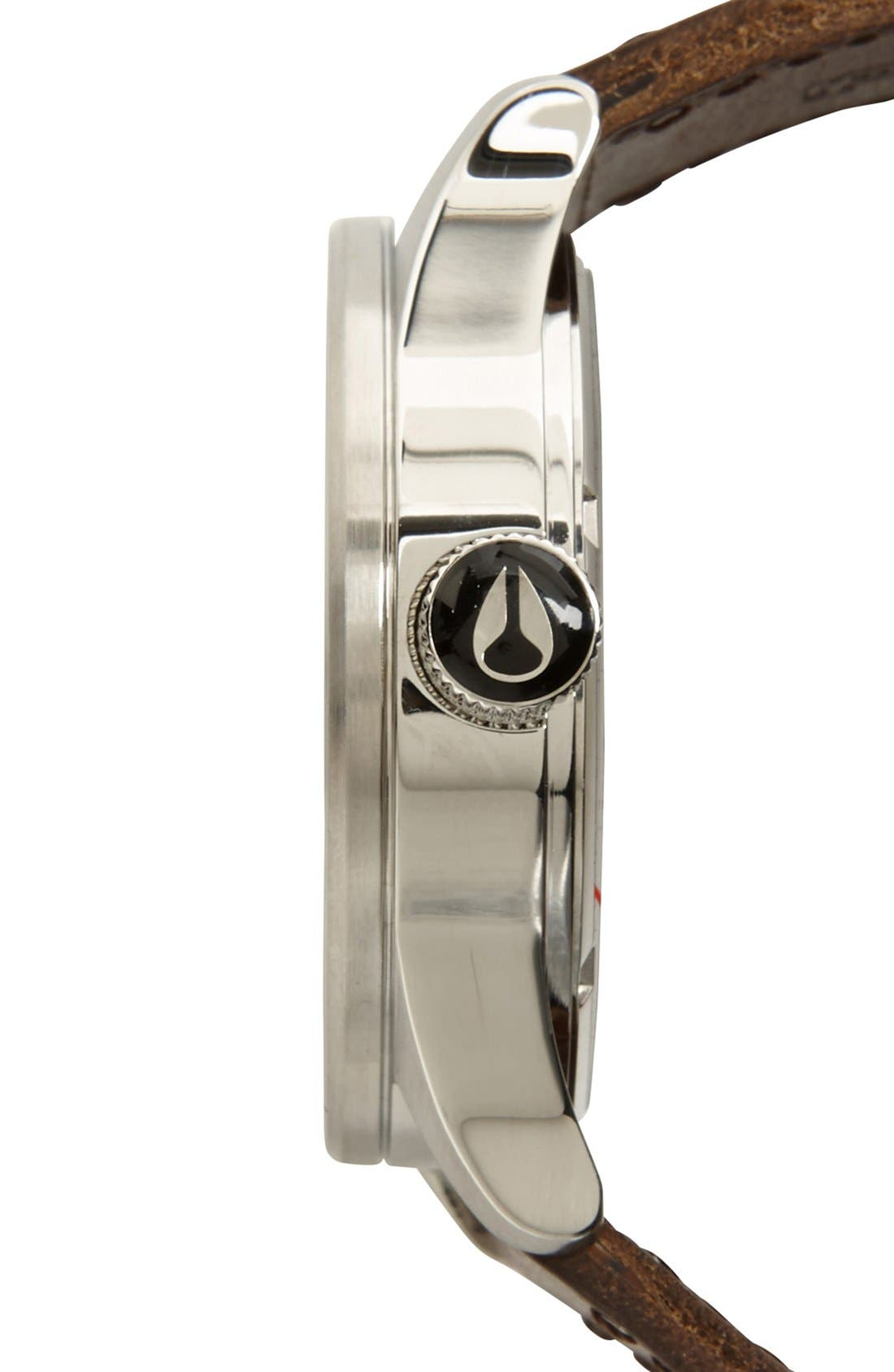 The Sentry Leather Strap Watch, 42mm,                             Alternate thumbnail 124, color,