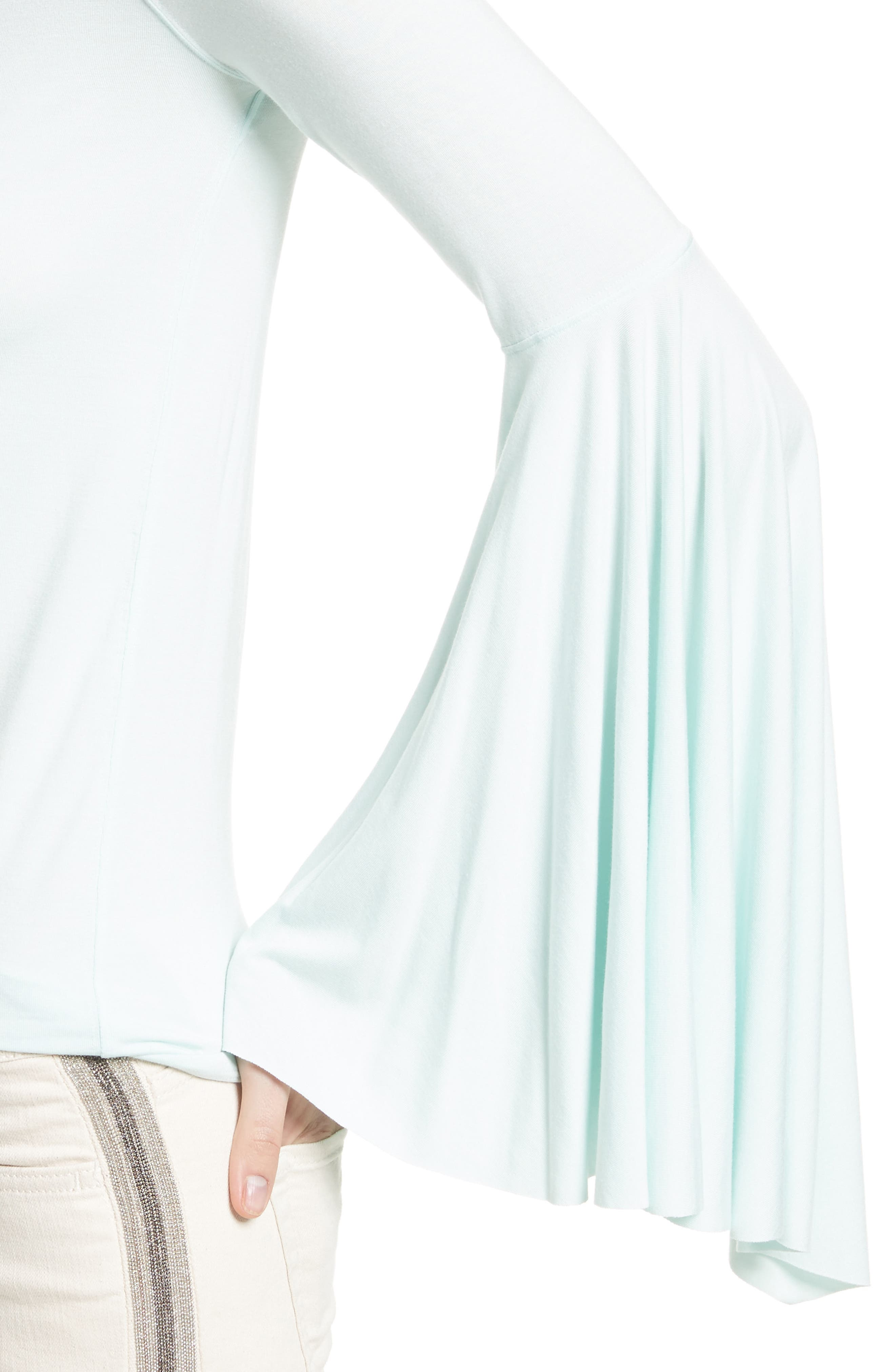 Birds of Paradise Off the Shoulder Top,                             Alternate thumbnail 12, color,